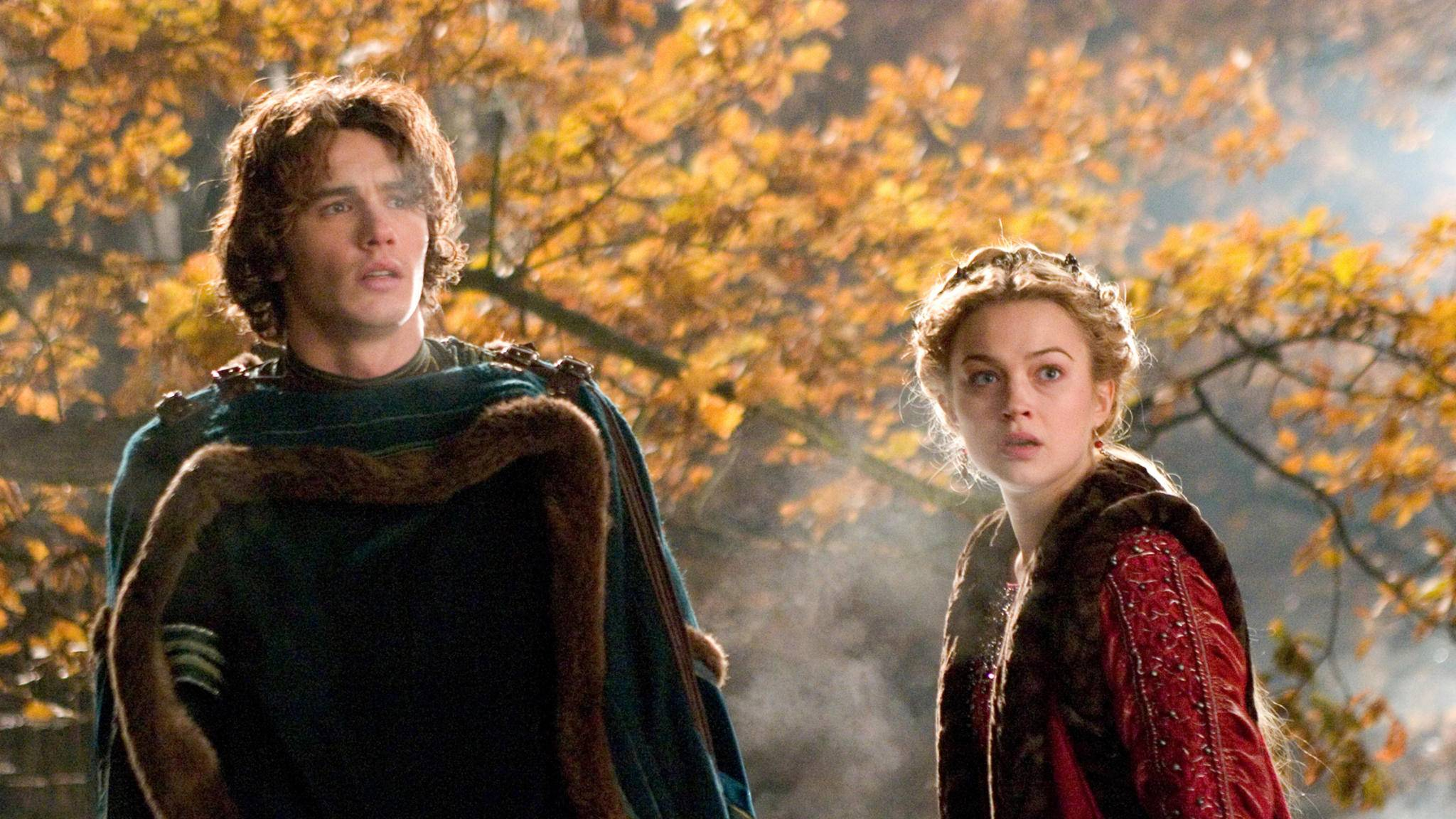 Tristan (James Franco) und Isolde (Sophia Myles) sind eines der besonders tragischen Filmpaare.