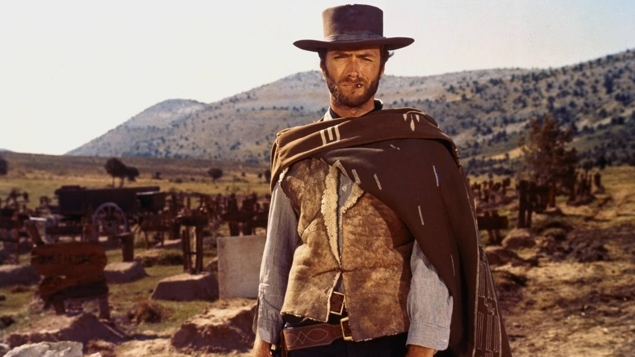 Hollywood-Ikone Clint Eastwood wurde dank Italo-Western berühmt.