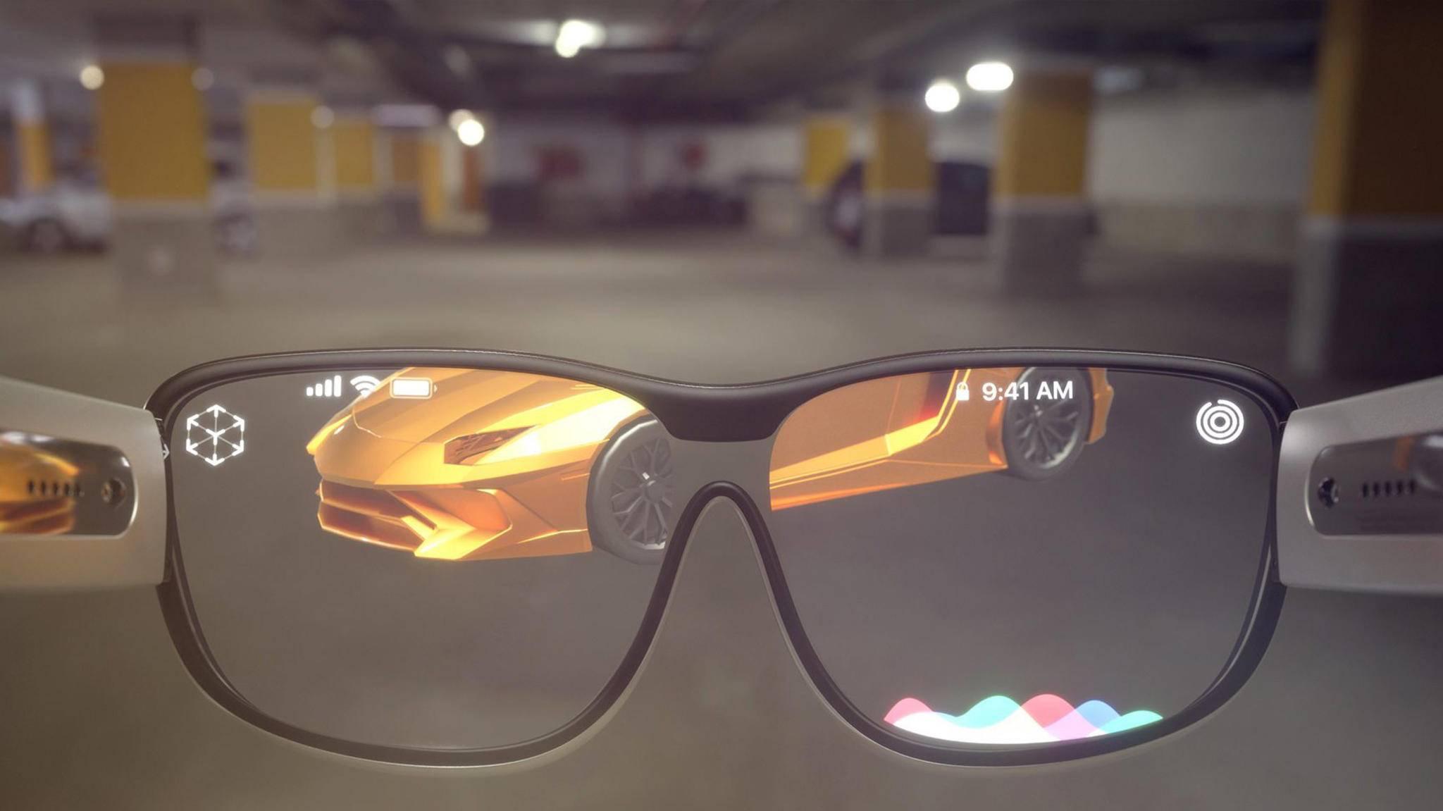 Die Apple Glasses (hier ein Konzeptbild) sollen erst 2022 auf den Markt kommen.