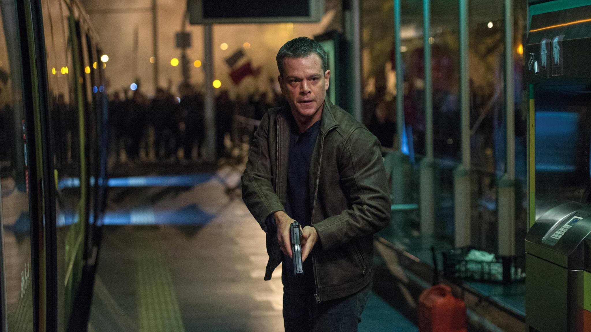 Mit Jason Bourne (Matt Damon) sollte sich besser niemand anlegen.