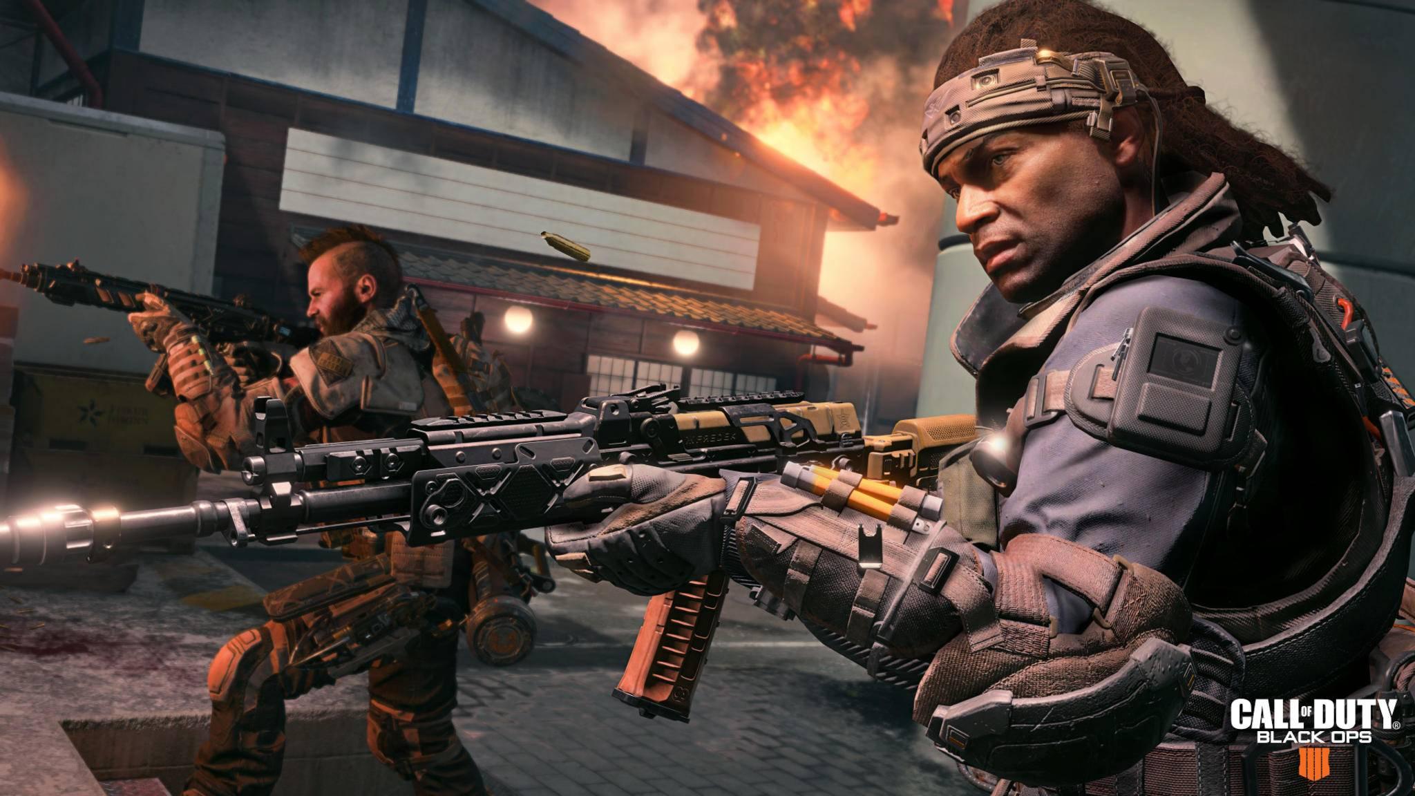 """Die Alpha-Version von """"Call of Duty 2020"""" wird offenbar schon fleißig getestet. (Bild: Call of Duty Black Ops 4)"""