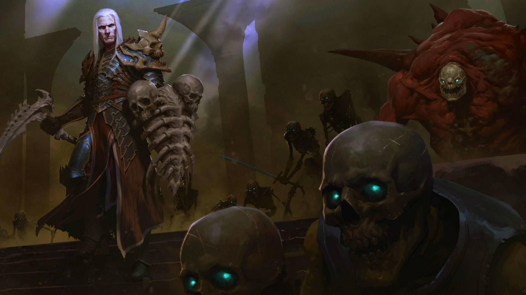 """Schluss mit Comicgrafik: """"Diablo 4"""" soll wieder gruselig werden."""