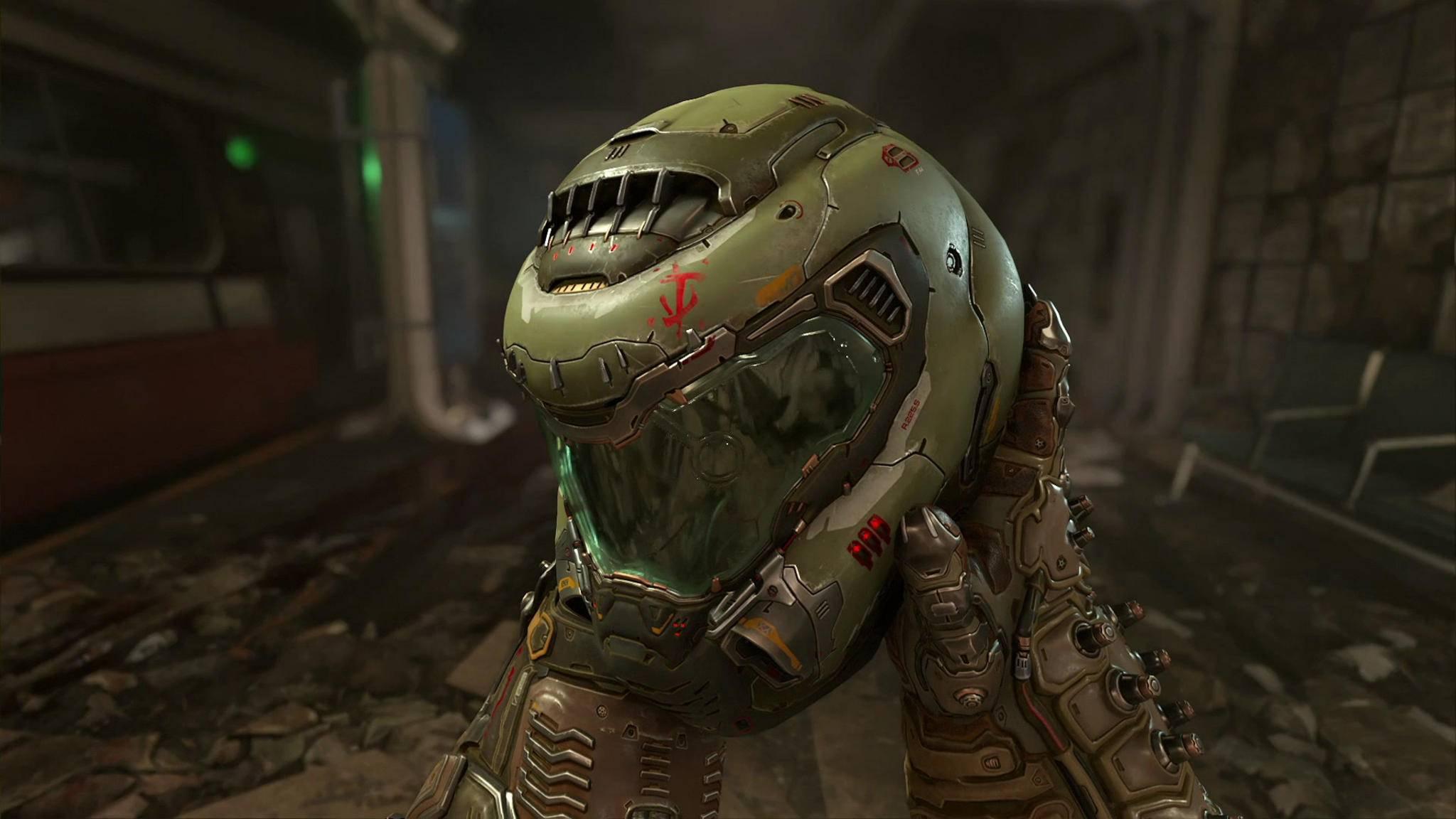 """Was macht der Doom-Guy eigentlich, wenn er nicht gerade Dämonen metzelt? Das erfahren wir womöglich in """"Doom Eternal""""."""
