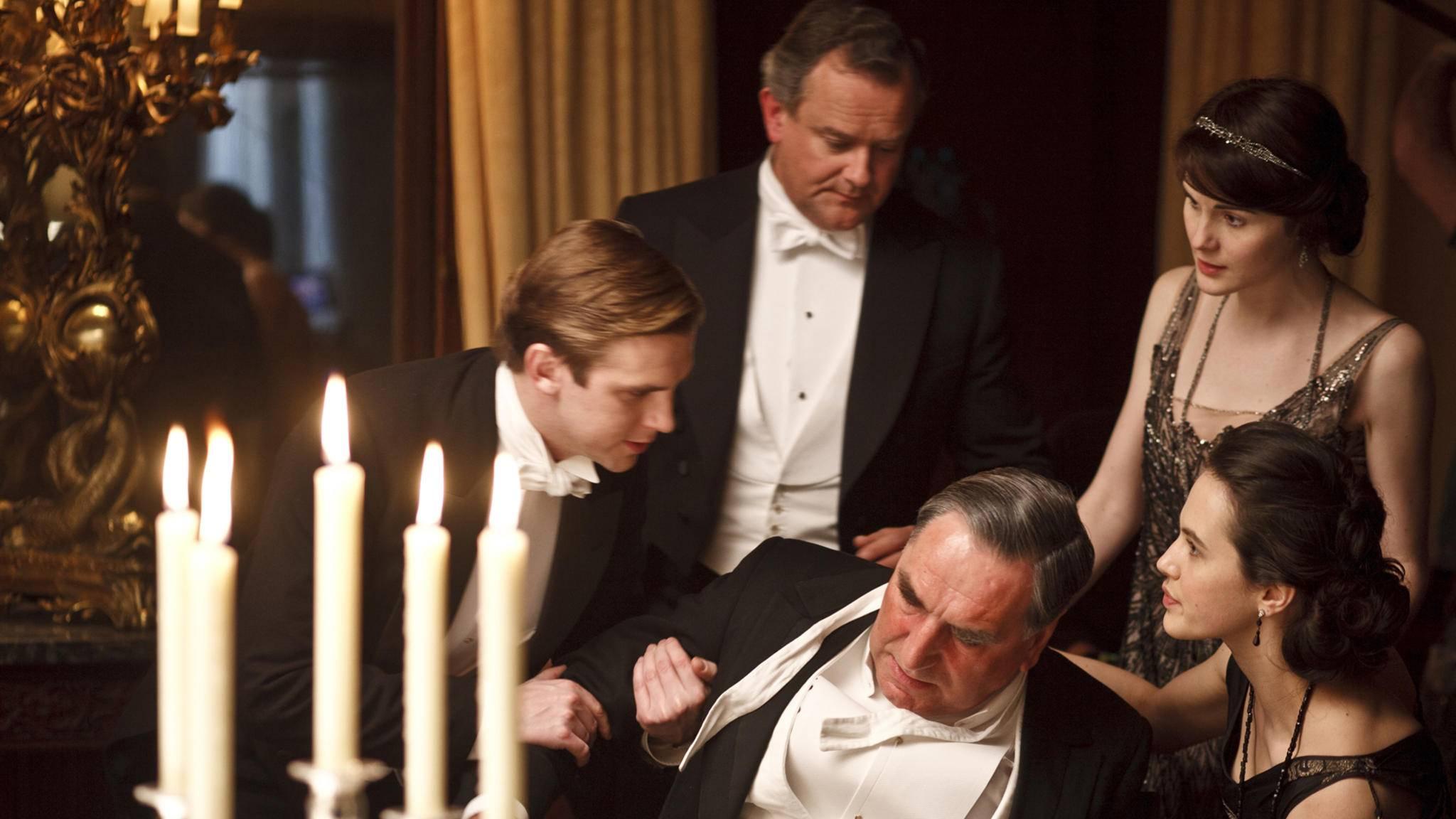"""Ein """"Downton-Abbey""""-Star der ersten Stunde könnte für den Film wieder ins Kostüm schlüpfen."""