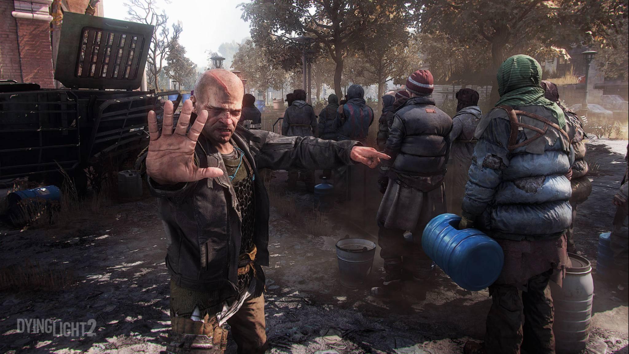 Beim ersten Stehlen ist die Hand ab, beim nächsten Mal wird man gehängt – bei Straftaten kennen die Peacekeeper keine Gnade.