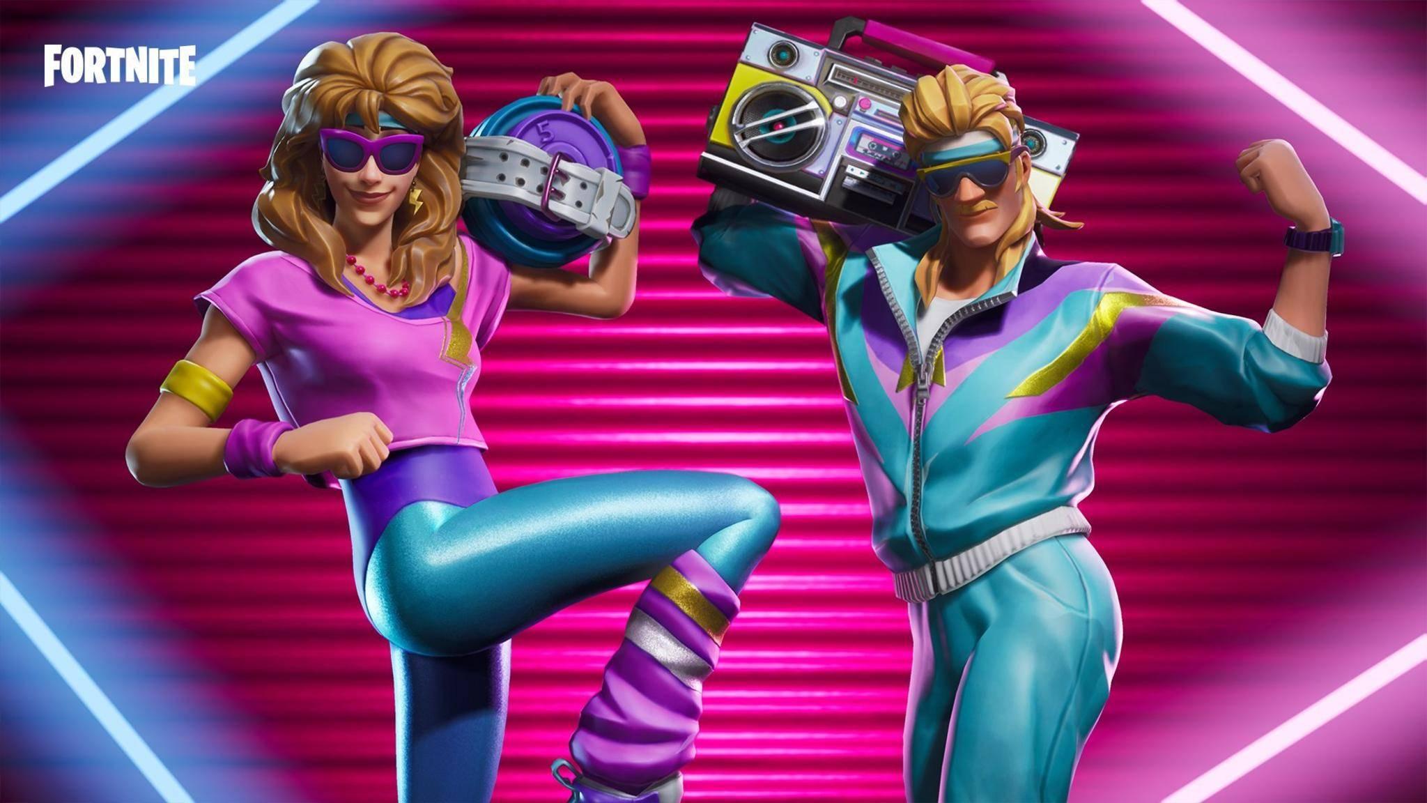 """Bitte zappeln Sie jetzt! """"Fortnite"""" belohnt Tänzer und Tänzerinnen in einem neuen Modus."""