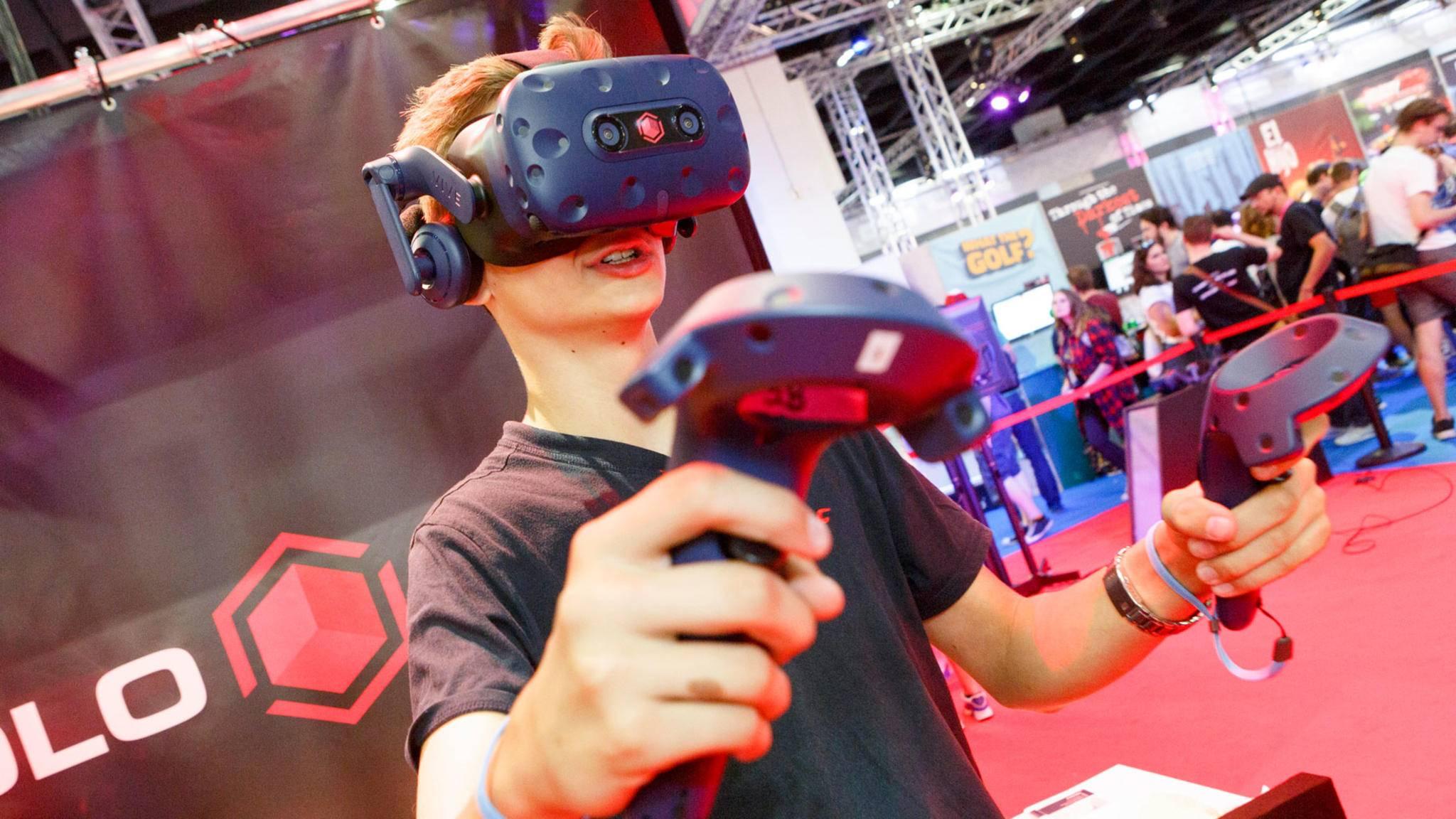 Virtual Reality spielte natürlich auch auf der Gamescom 2018 eine große Rolle.