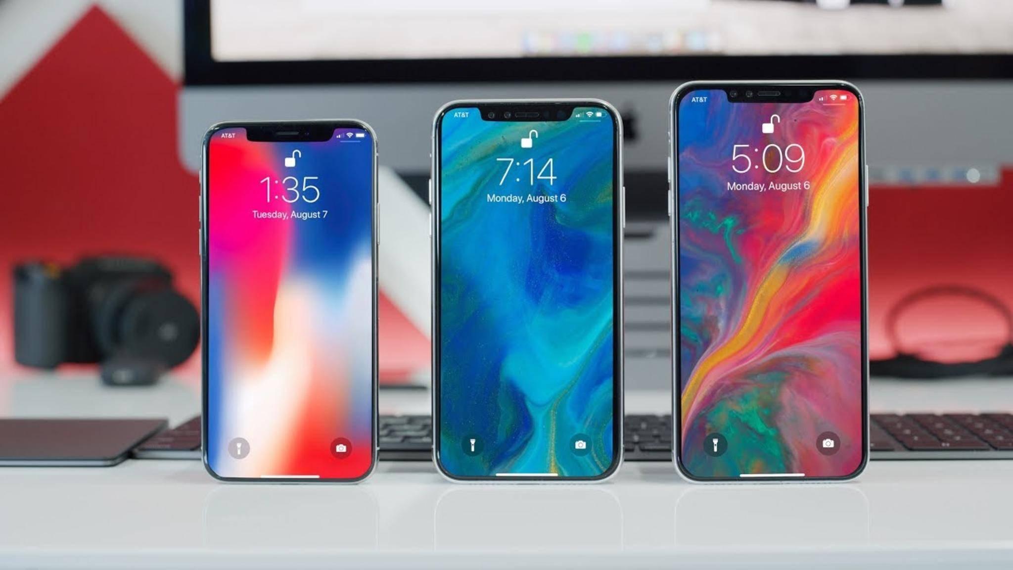 Im September stellt Apple traditionell sein neues iPhone-Line-up vor.