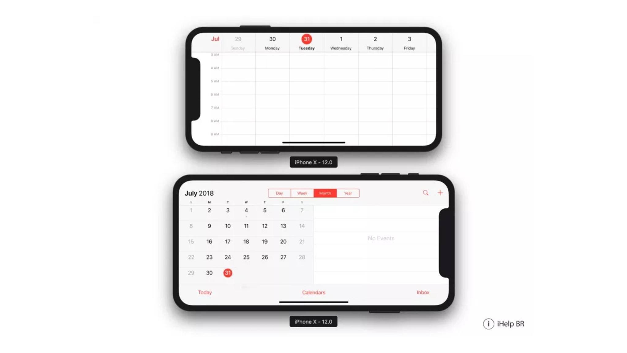 Das iPhone X Plus soll sich systemweit im Querformat nutzen lassen.