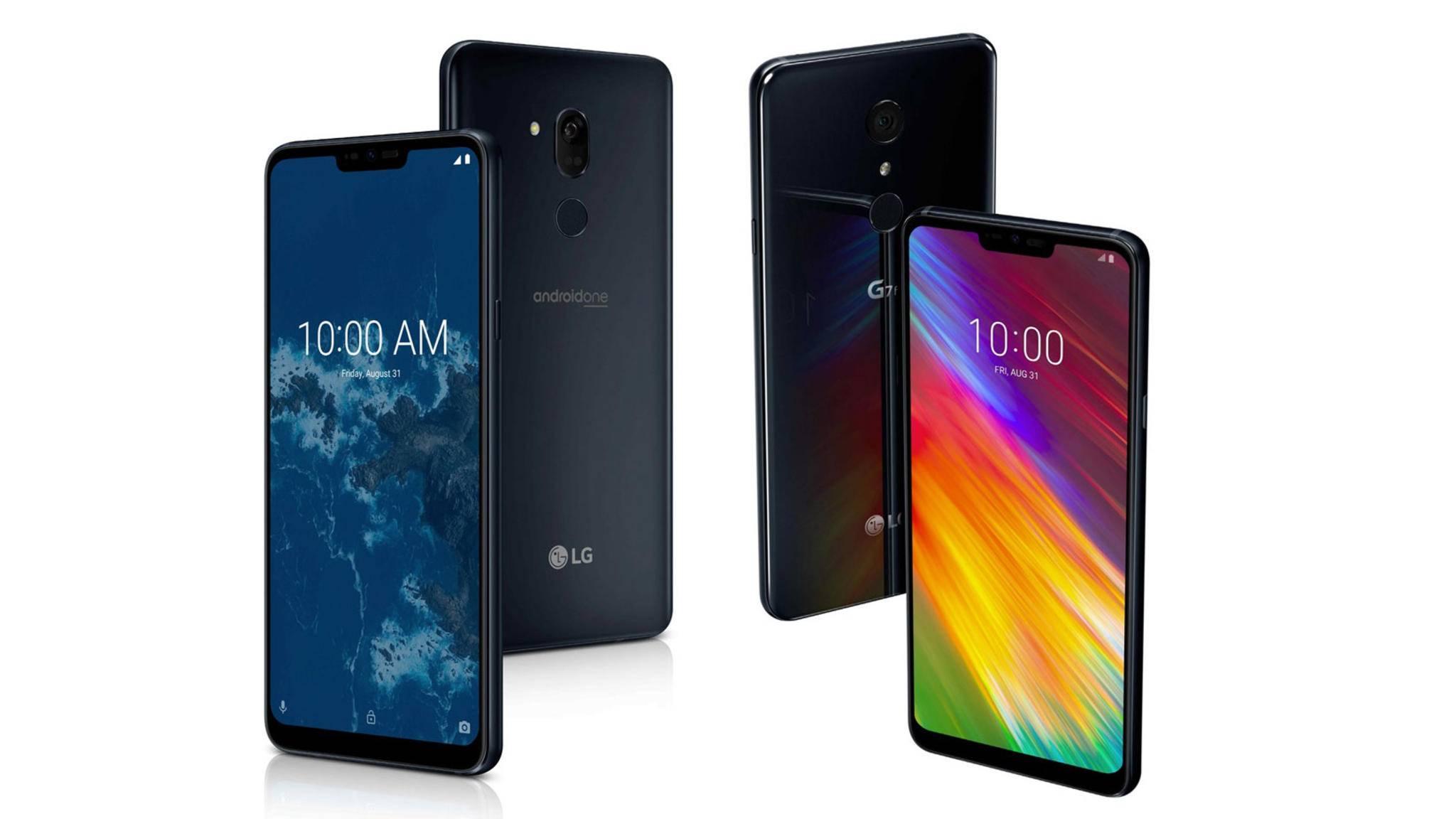 LG hat zwei neue Ableger für seine G7-Serie vorgestellt.