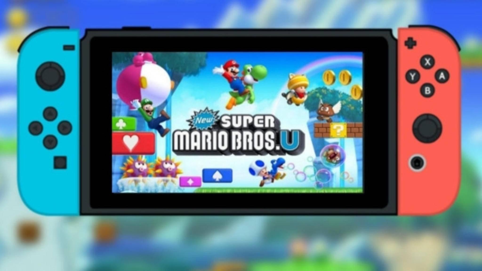 """Soll noch 2018 für die Nintendo Switch veröffentlicht werden: """"Super Mario Bros. U""""."""