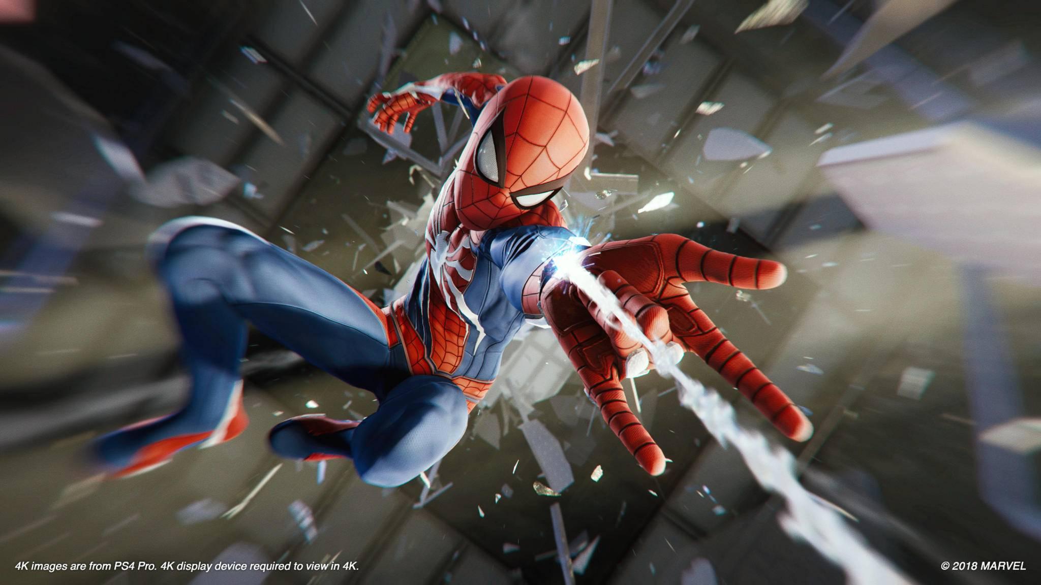 Bekommen die Avengers auf der PS4 Unterstützung von Spider-Man?