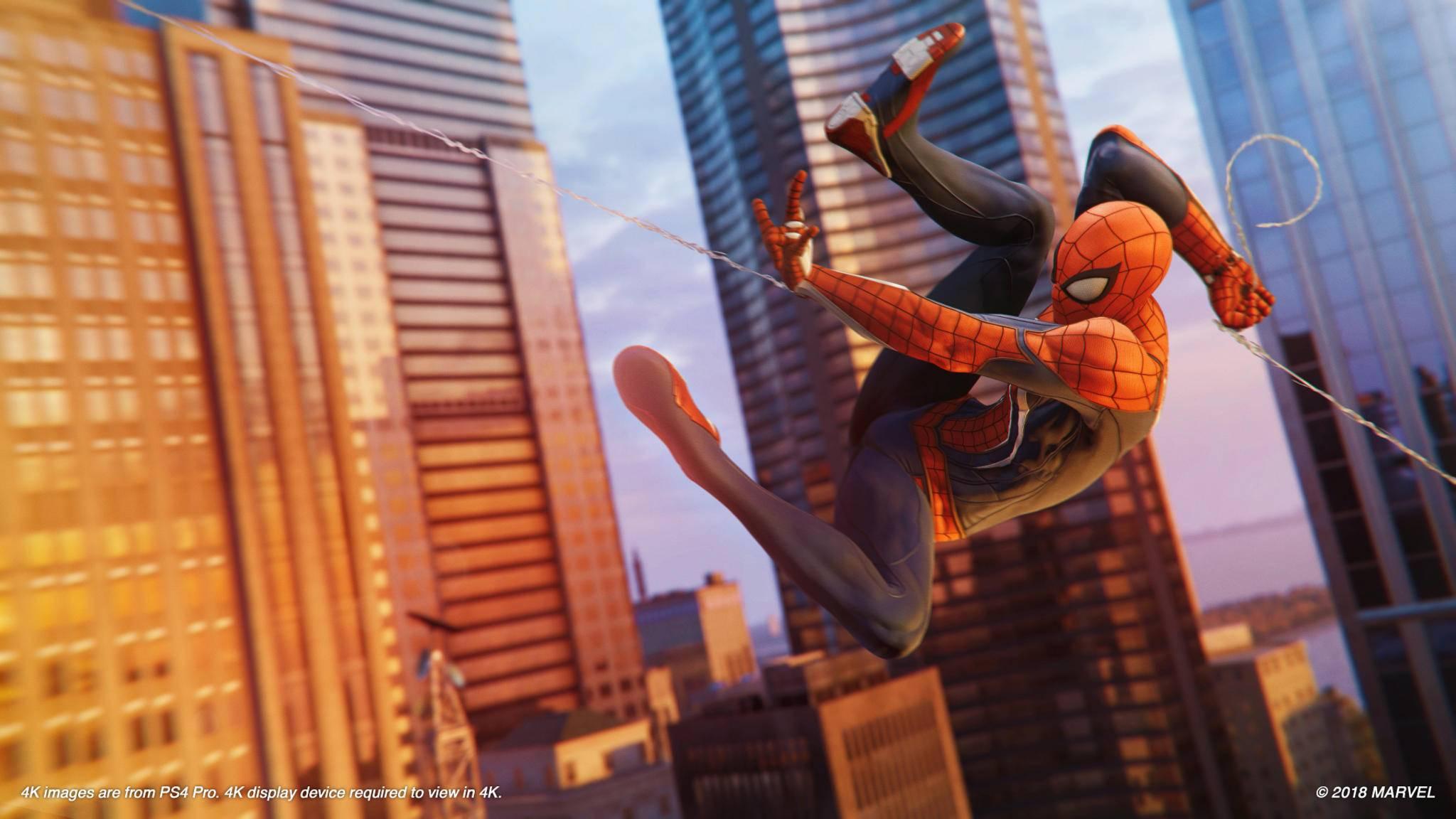 """Die Spinne und ihre Stadt: New York bleibt auch im DLC zu """"Marvel's Spider-Man"""" wichtig."""