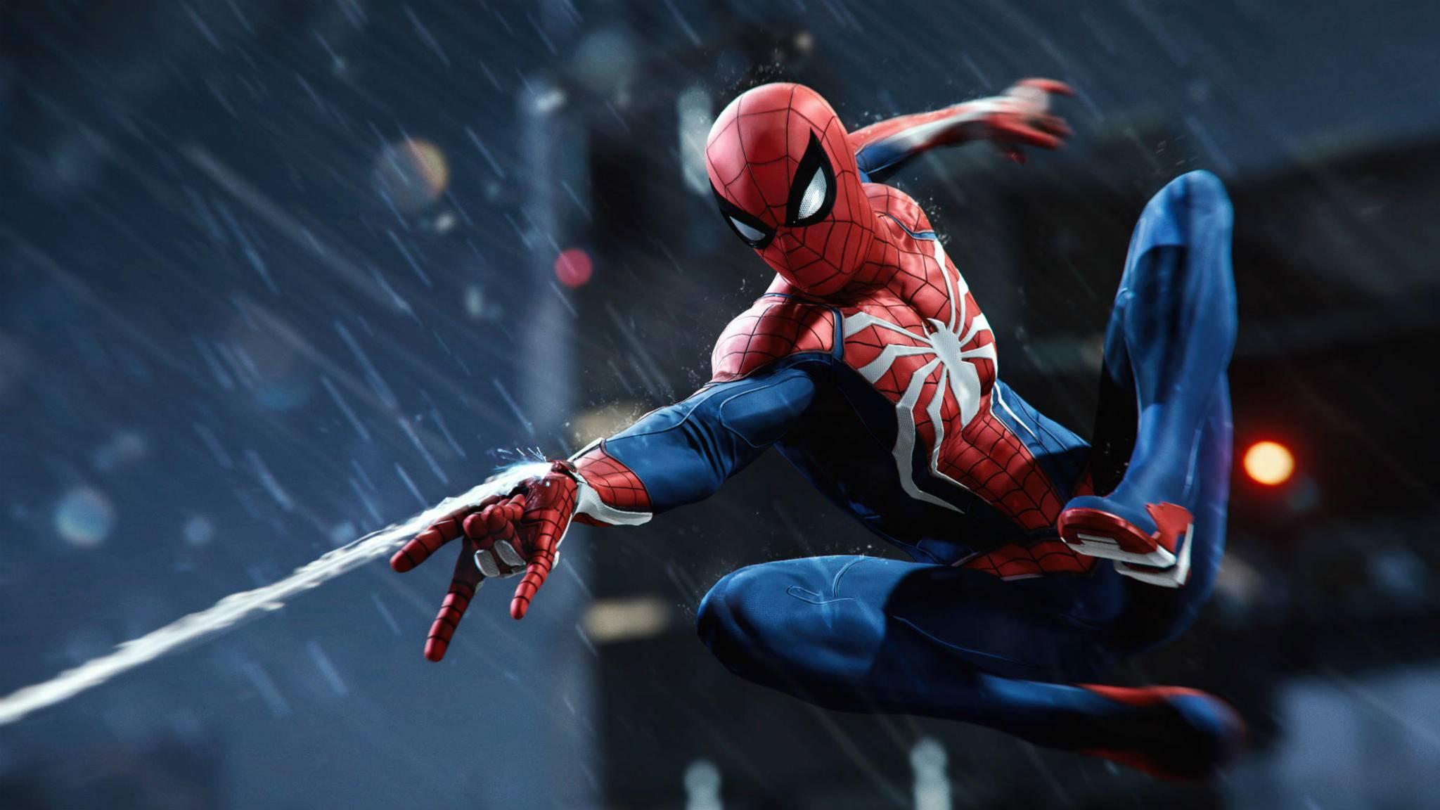 """Hat """"Spider-Man"""" Probleme mit Pfützen? Auf keinen Fall, sagen die Entwickler."""