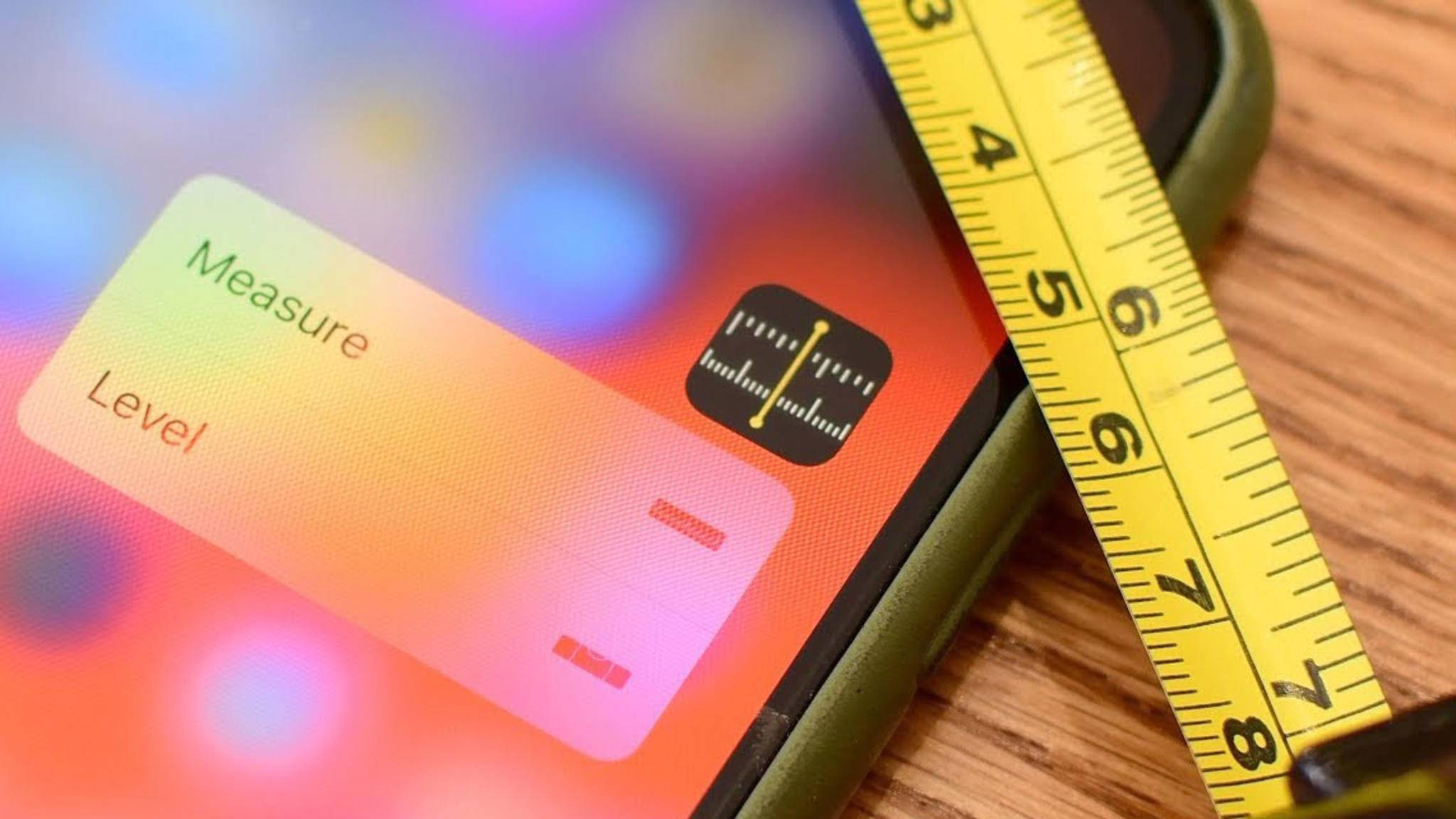 Iphone Entfernungsmesser Test : So funktioniert die neue maßband app in ios 12