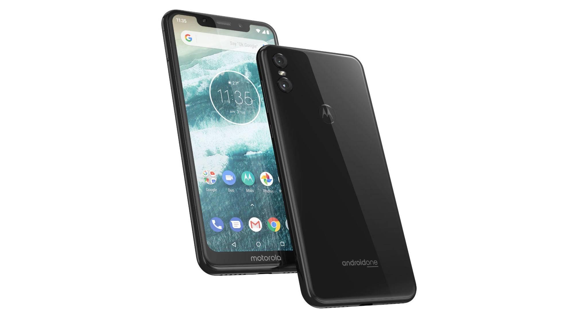 Das erste Motorola-Smartphone mit Notch: Das Motorola One wurde jetzt vorgestellt.