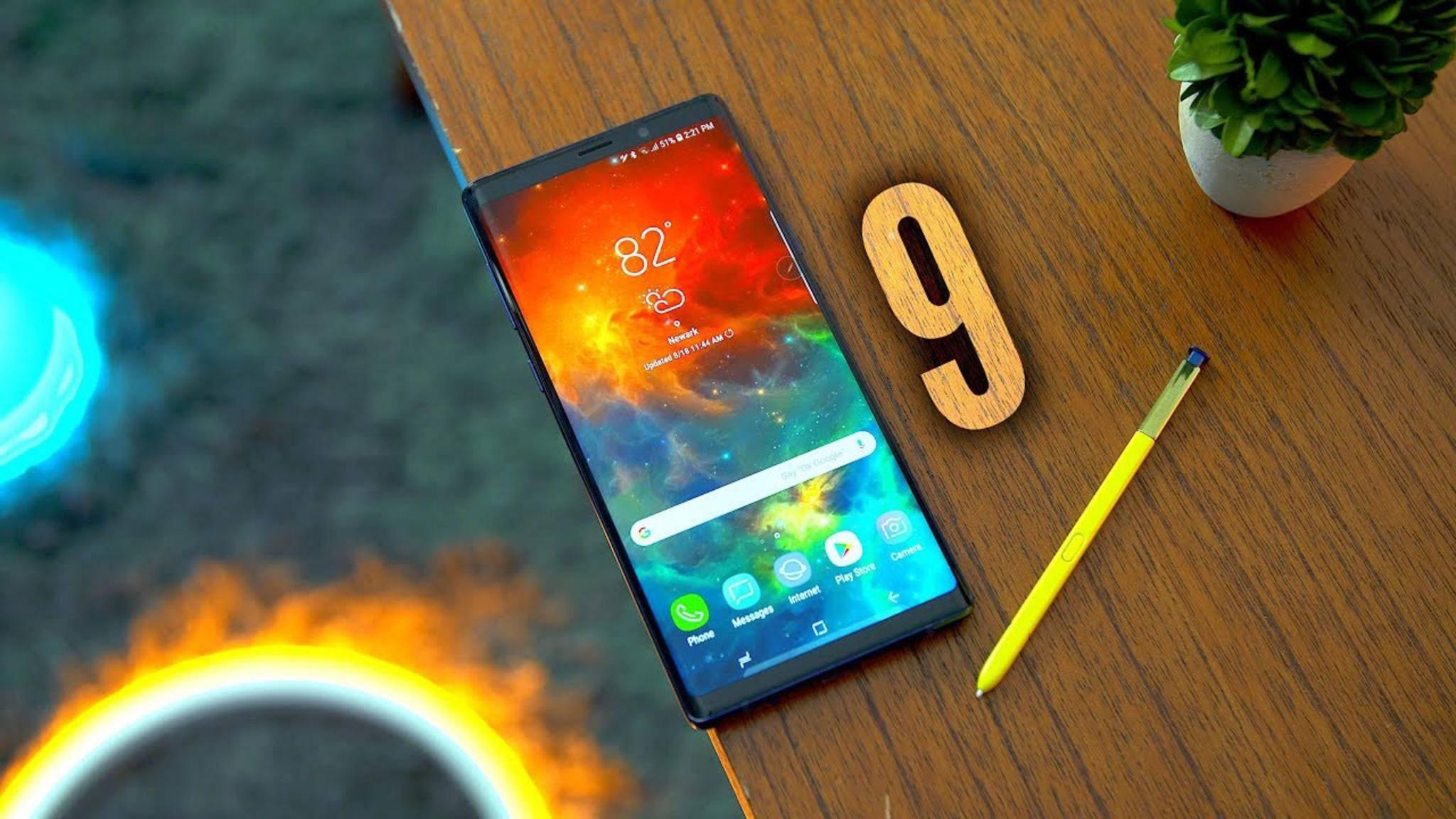 Das Galaxy Note 9 ist da! Ob es sich lohnt, erfährst Du in unserem Test.