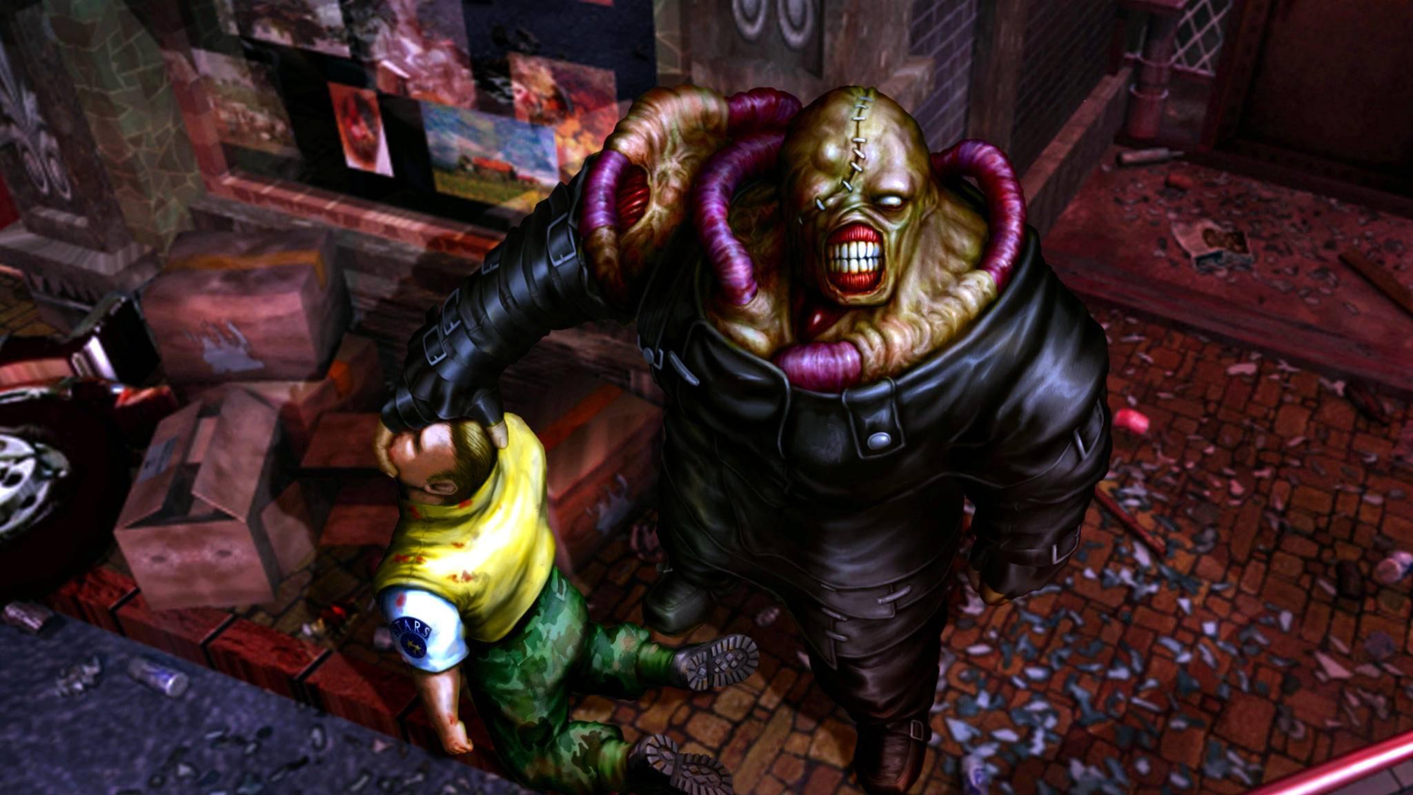 """Dürfen wir bald in einem """"Resident Evil 3""""-Remake wieder gegen Nemesis antreten?"""