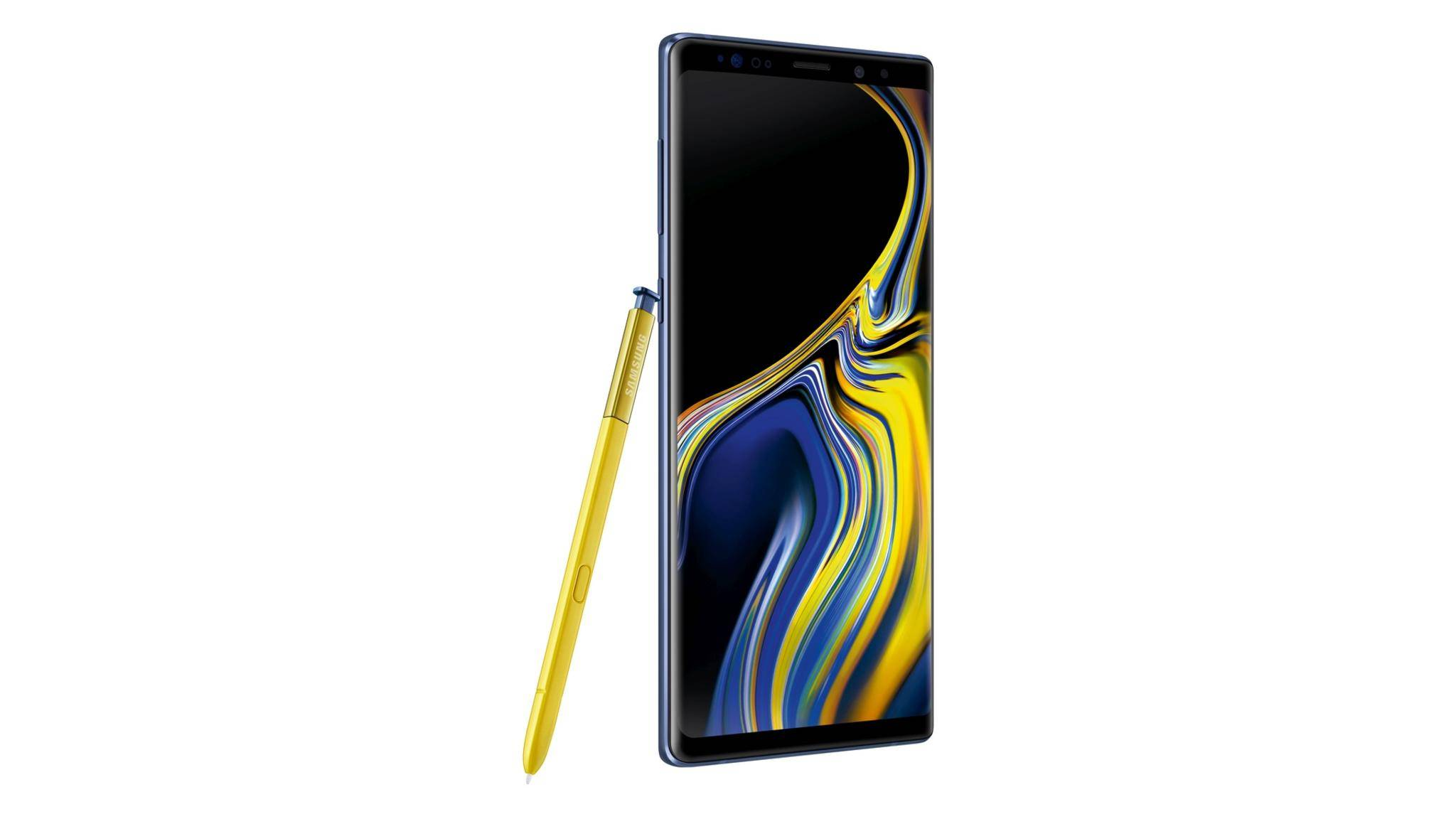 Das Galaxy Note 9 bietet einen innovativen S-Pen mit Bluetooth-Support.