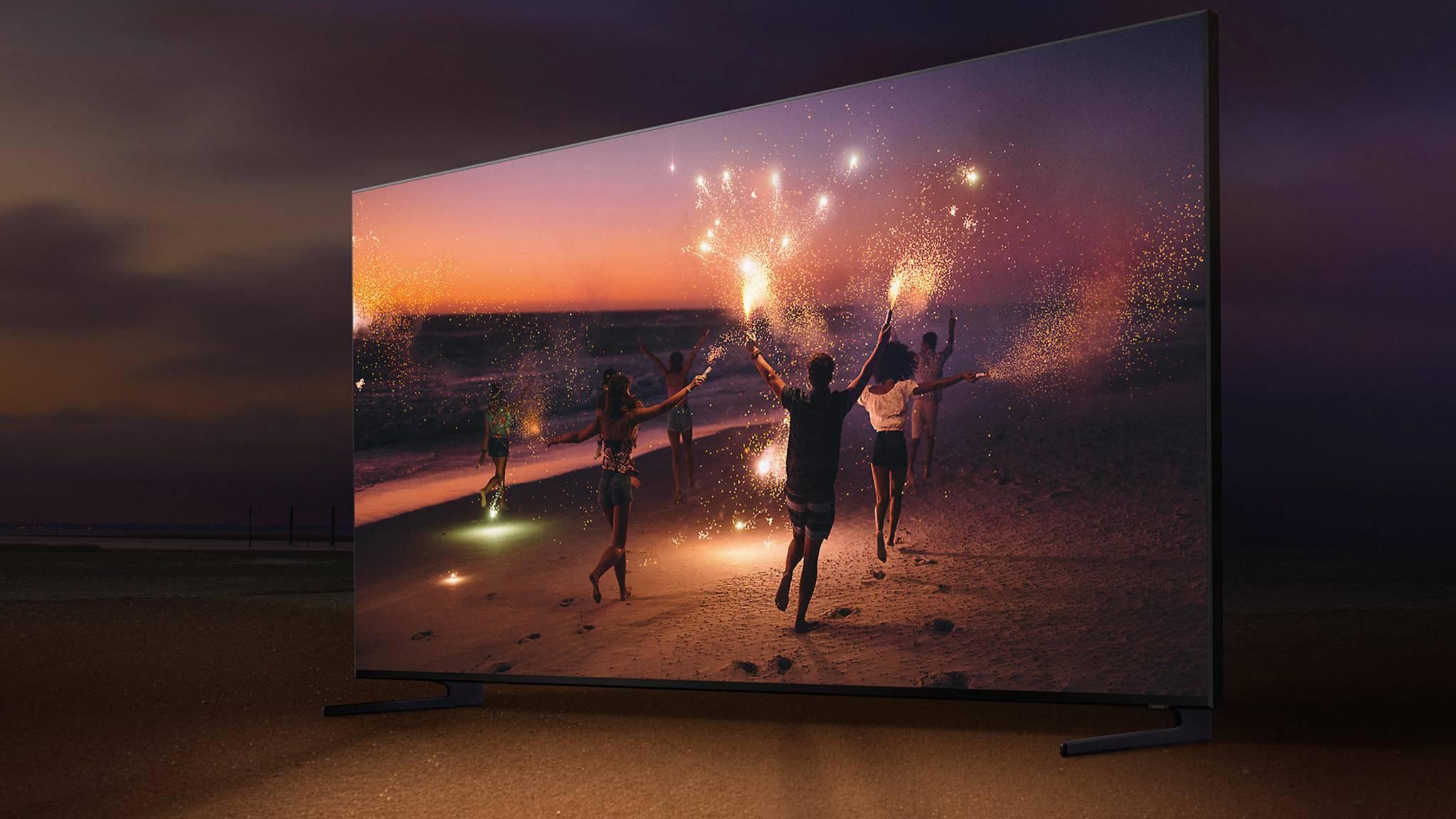 Samsungs QLED-Fernseher nutzen ein VA-Panel.