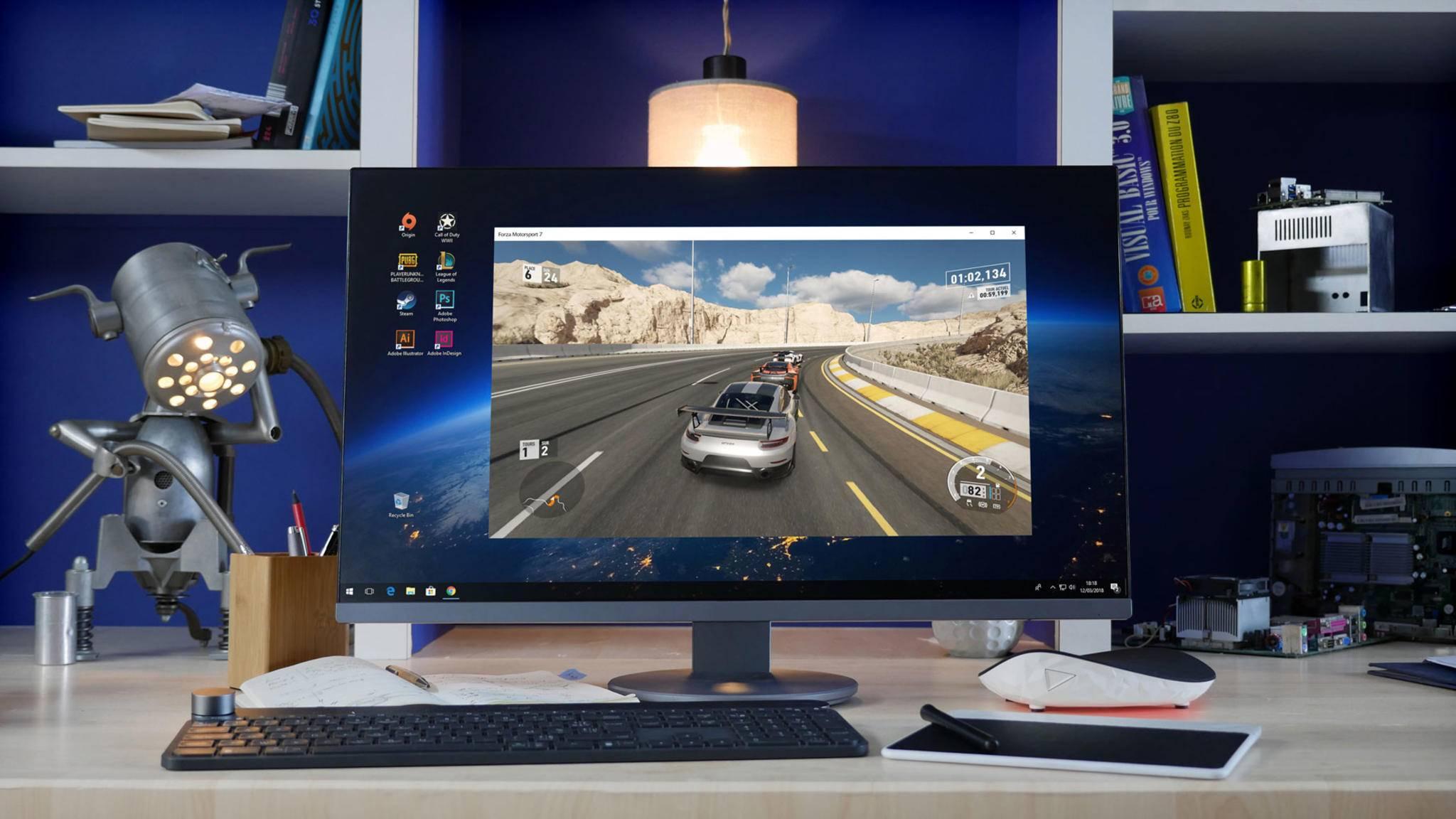 Shadow ermöglicht es Dir, von überall auf einen leistungsstarken Gaming-Rechner zuzugreifen.