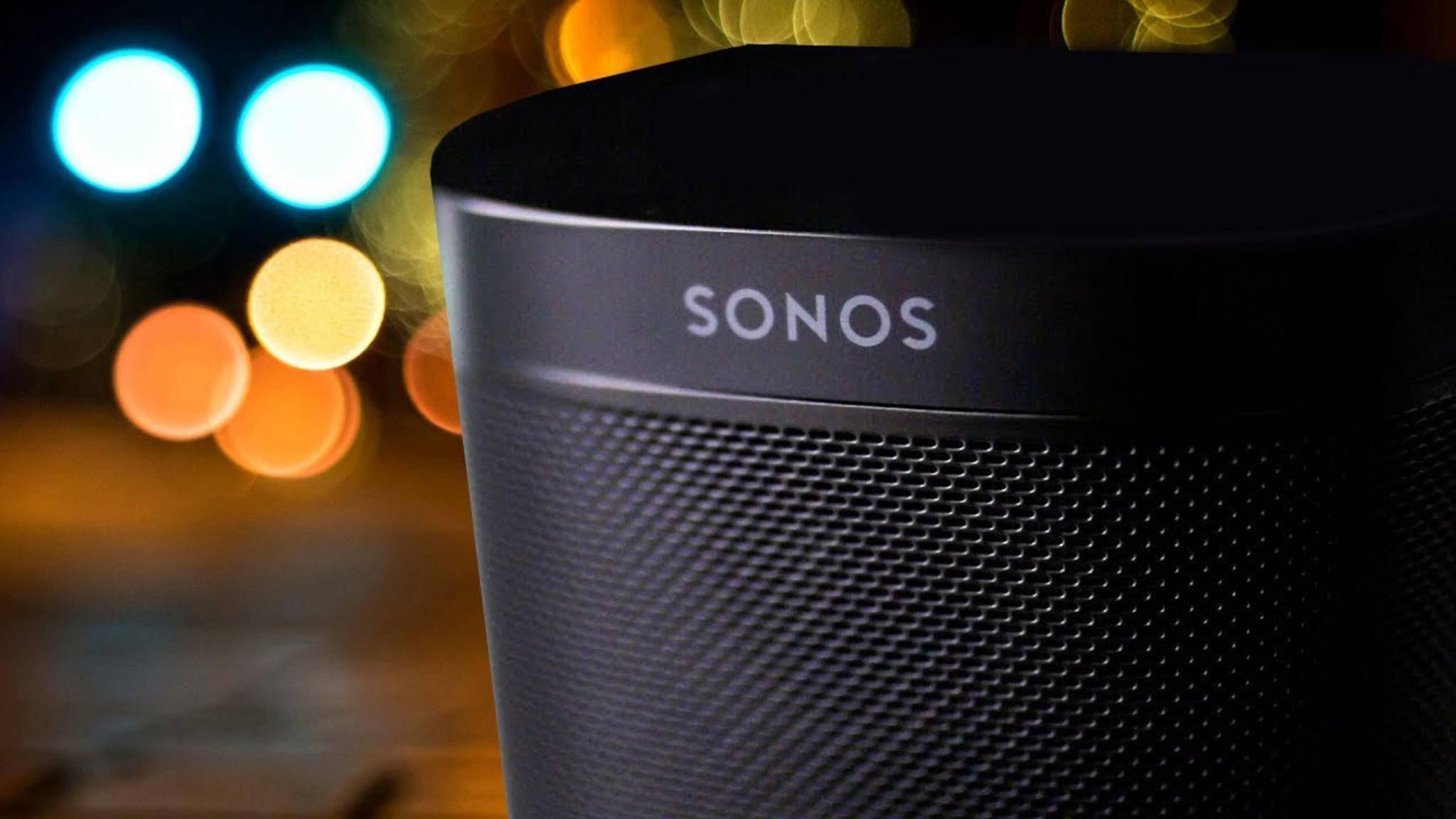 Demnächst wird der Sonos One auch Sprachbefehle per Google Assistant entgegennehmen.