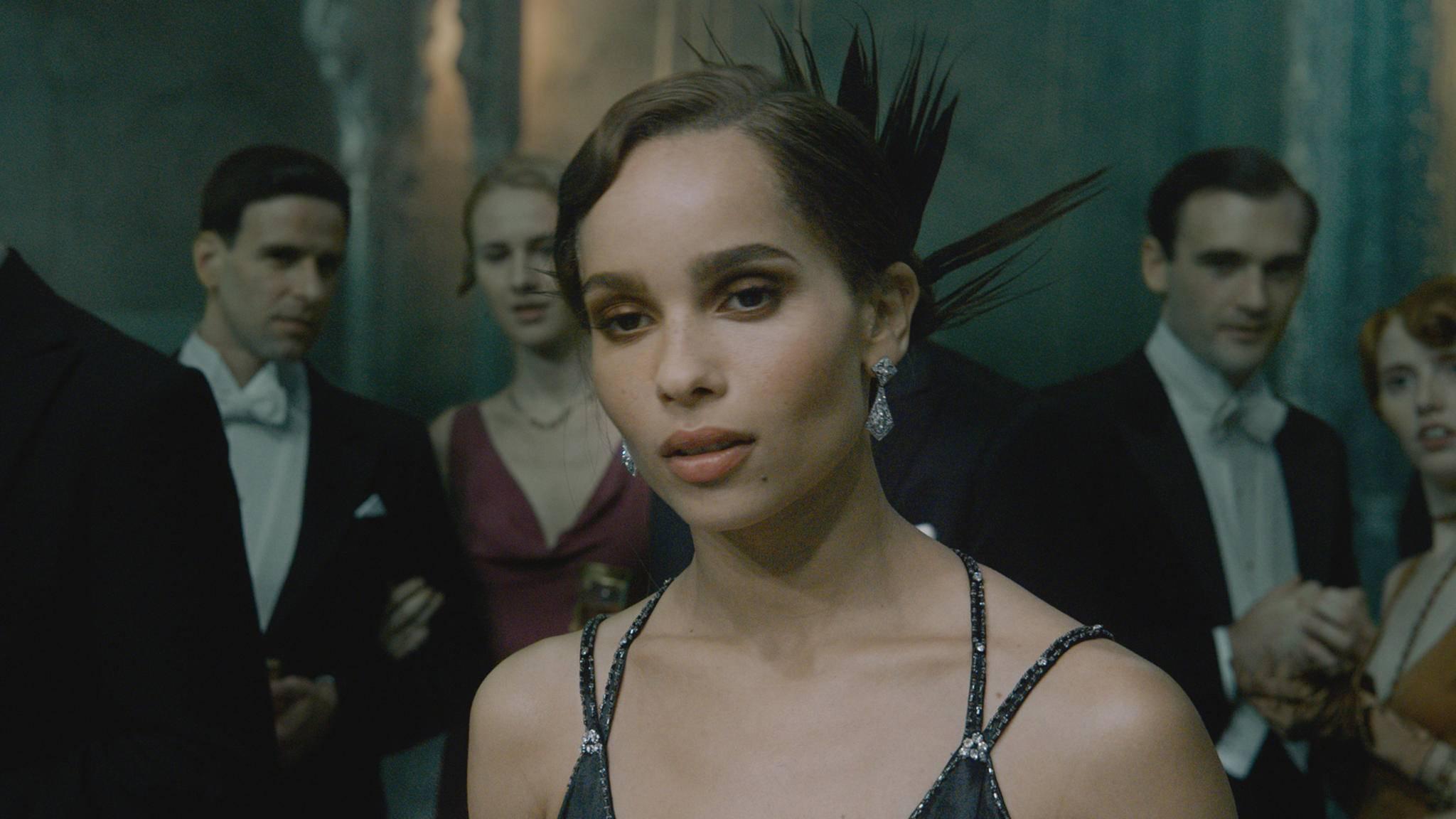 """In """"Phantastische Tierwesen 2"""" spielte sie Leta Lestrange, nun verwandelt sich Zoë Kravitz in Catwoman!"""