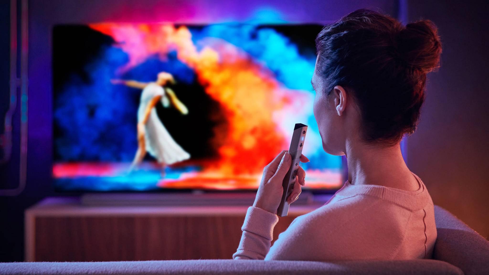 Moderne Fernseher sollten viele verschiedene Anschlüsse haben.