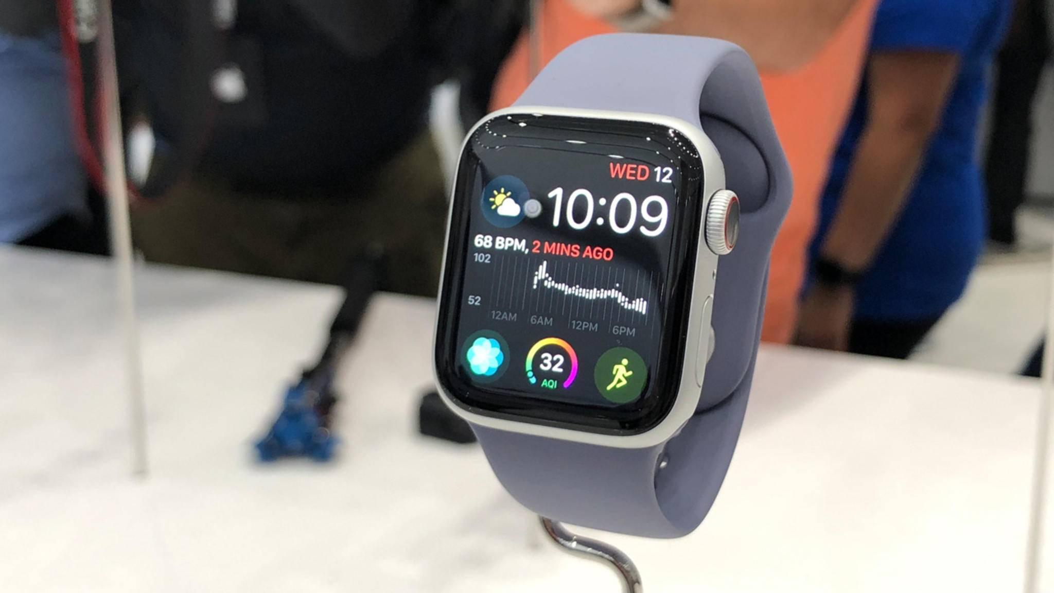 Die Apple Watch Series 4 könnte im Herbst einen Nachfolger erhalten.