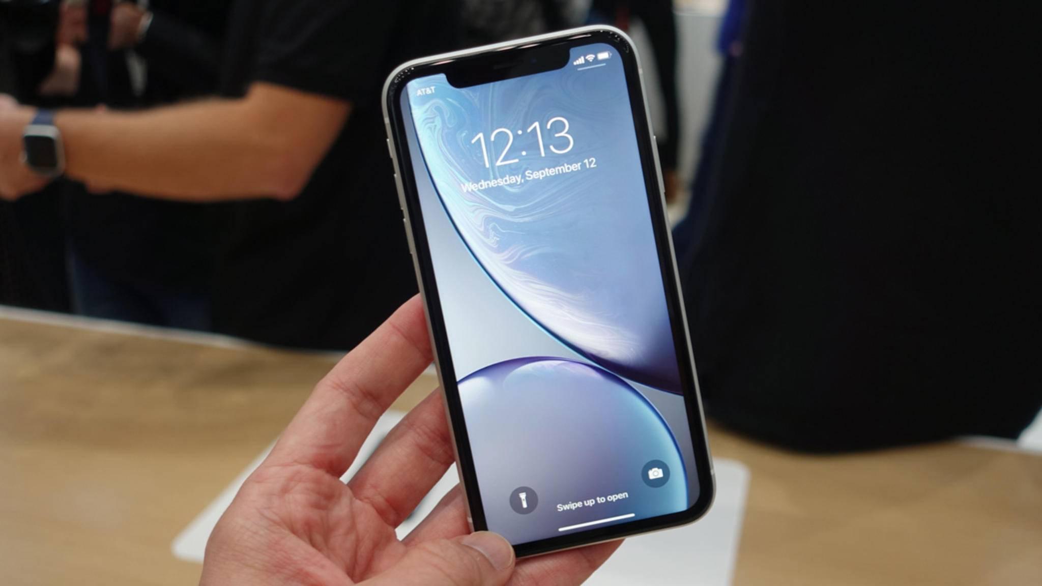 Das iPhone XR erscheint erst Ende Oktober.