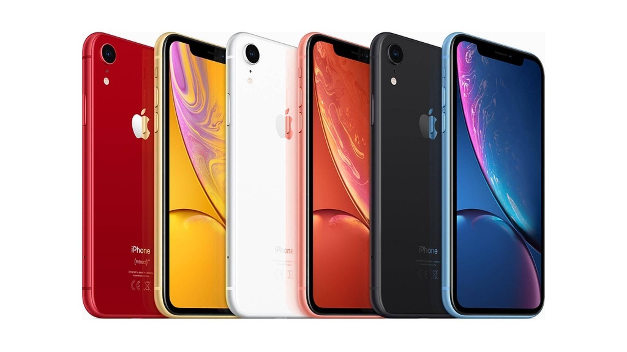 Der Nachfolger des iPhone XR könnte die Farbpalette etwa durchmischen.