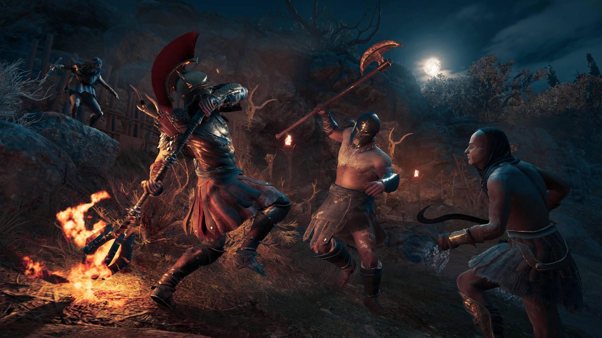 """""""Assassin's Creed Odyssey"""" erhält auf PC ein paar Zusatzfunktionen zur optimale Grafikeinstellung."""