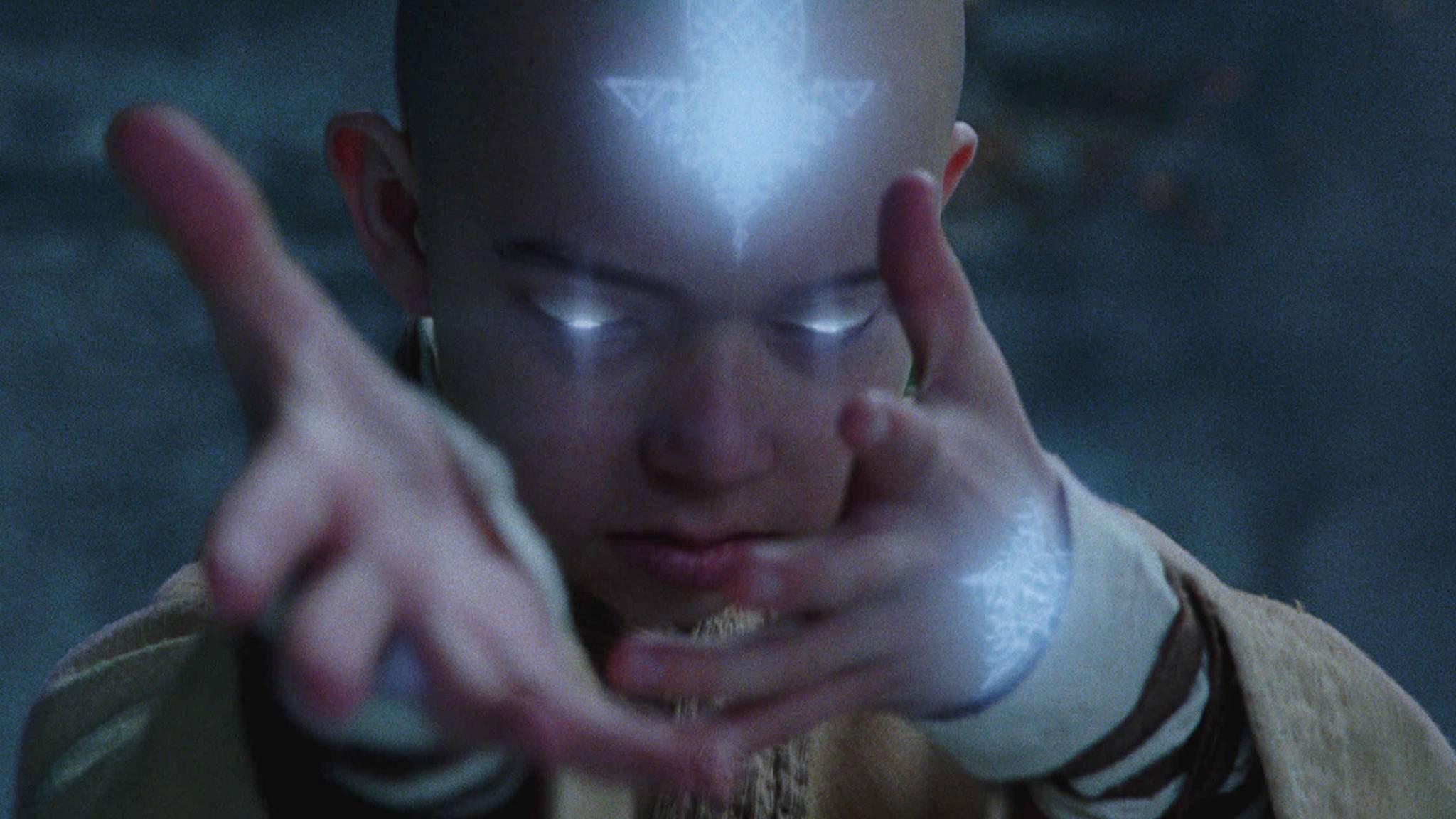 Aang muss sich ab sofort ohne seine Erfinder durchschlagen.