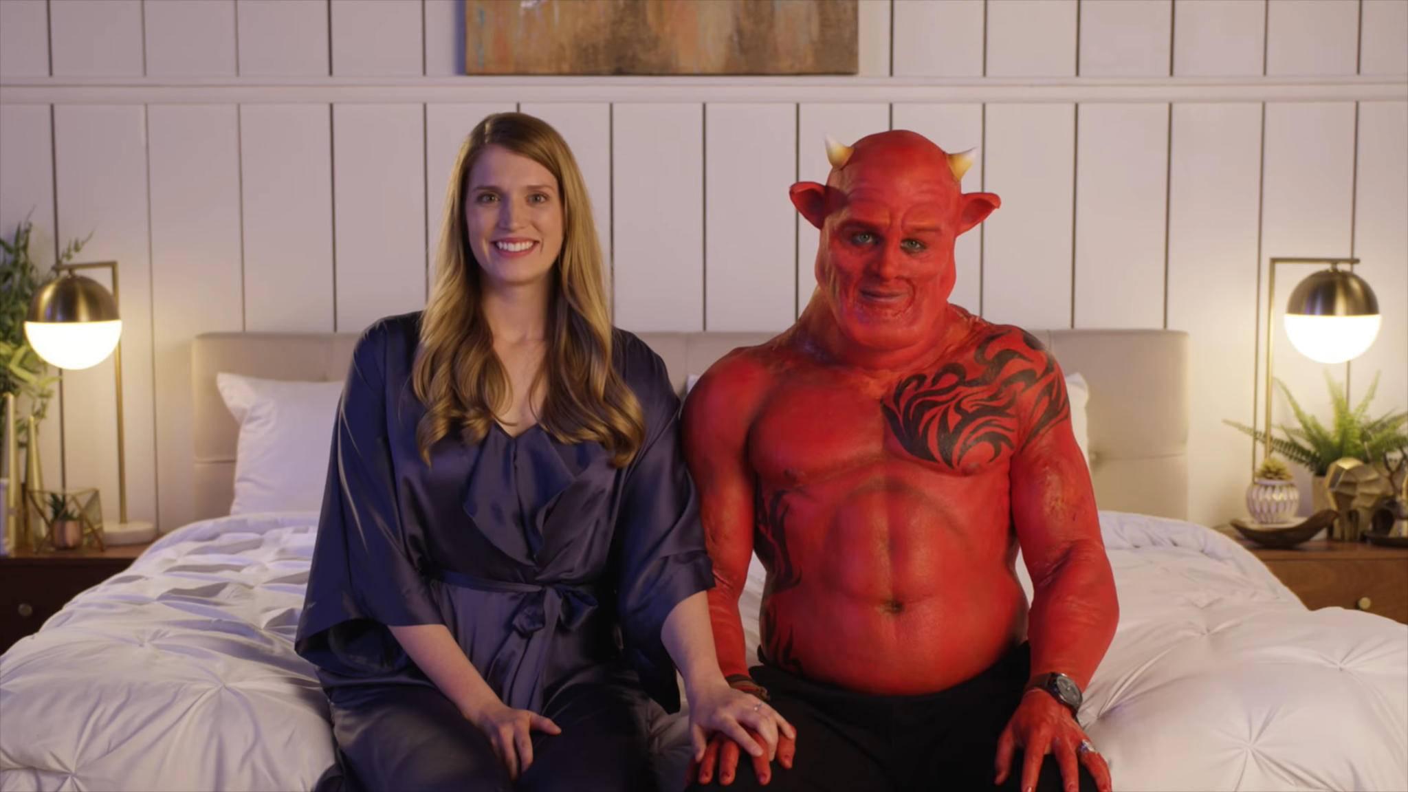 Selbst der Teufel ist sich nicht zu schade für einen Auftritt in einem Kickstarter-Video.