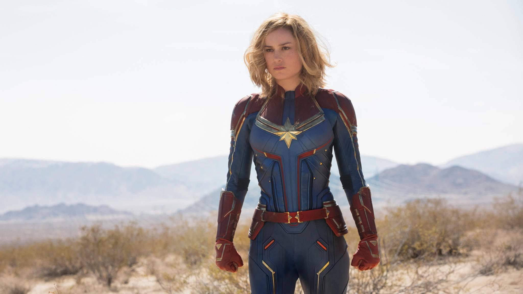 """Filmfans fiebern dem ersten Auftritt von """"Captain Marvel"""" entgegen."""