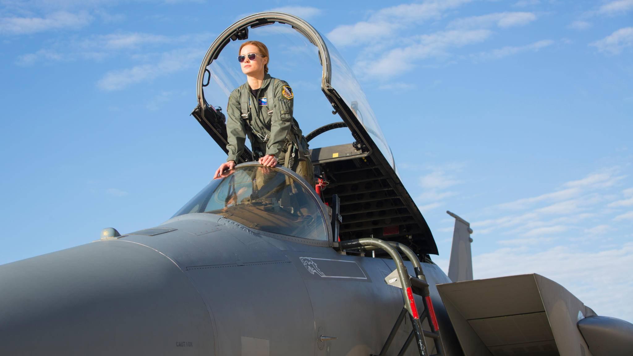 """Captain Marvels Motto """"Higher, Further, Faster."""" scheint auch vor den Kinocharts nicht Halt zu machen, denn dort startet der Film gerade so richtig durch."""