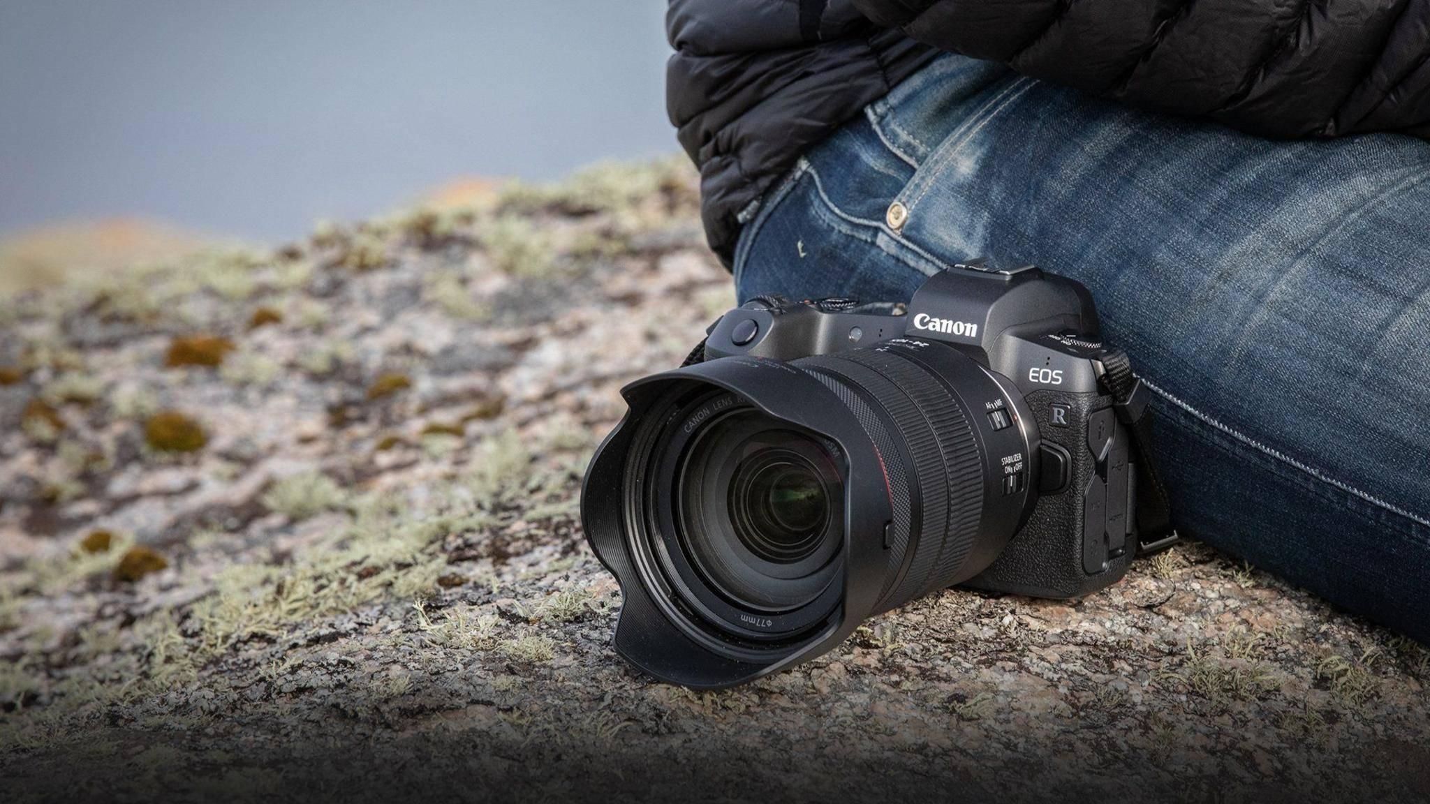 Eine zukünftige DSLM aus der Canon-EOS-R-Serie soll 8K-Videos aufzeichnen können (hier das aktuelle Modell).