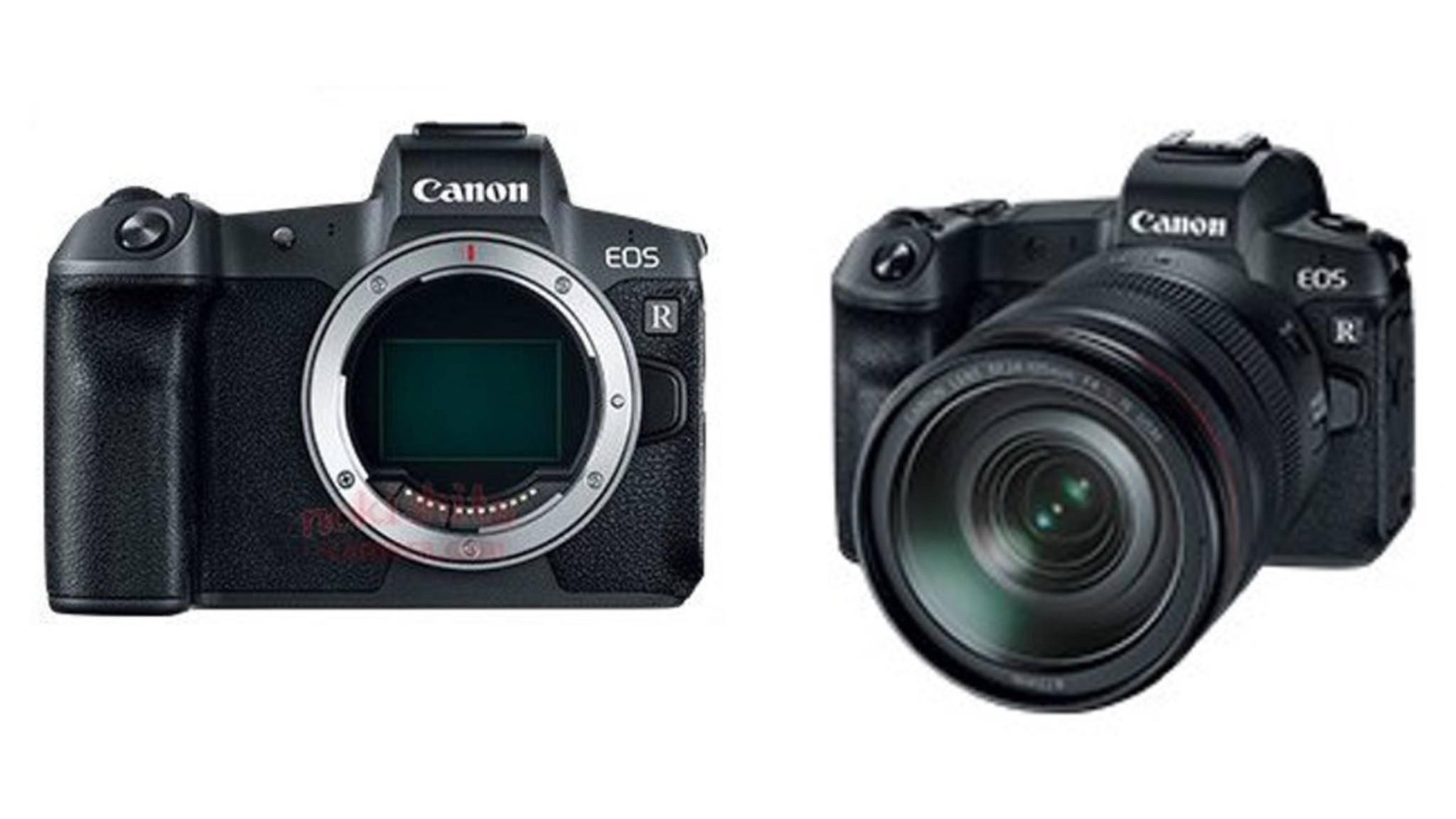 So soll die Canon EOS R aussehen.