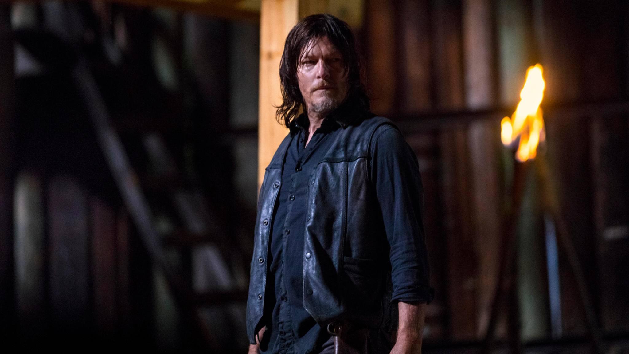 """Daryl-Darsteller Norman Reedus hat seine ganz eigene Meinung zum Anführerwechsel in Staffel 9 von """"The Walking Dead""""."""