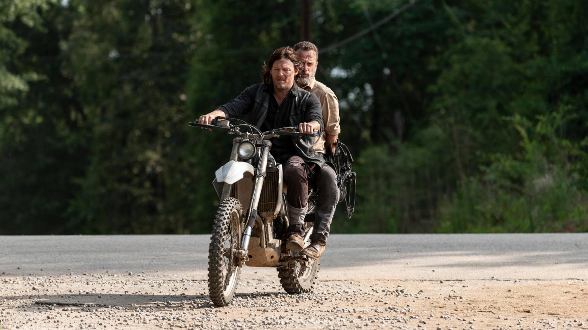 Cruisen Daryl und Rick bald wieder gemeinsam durch die Zombieapokalypse?