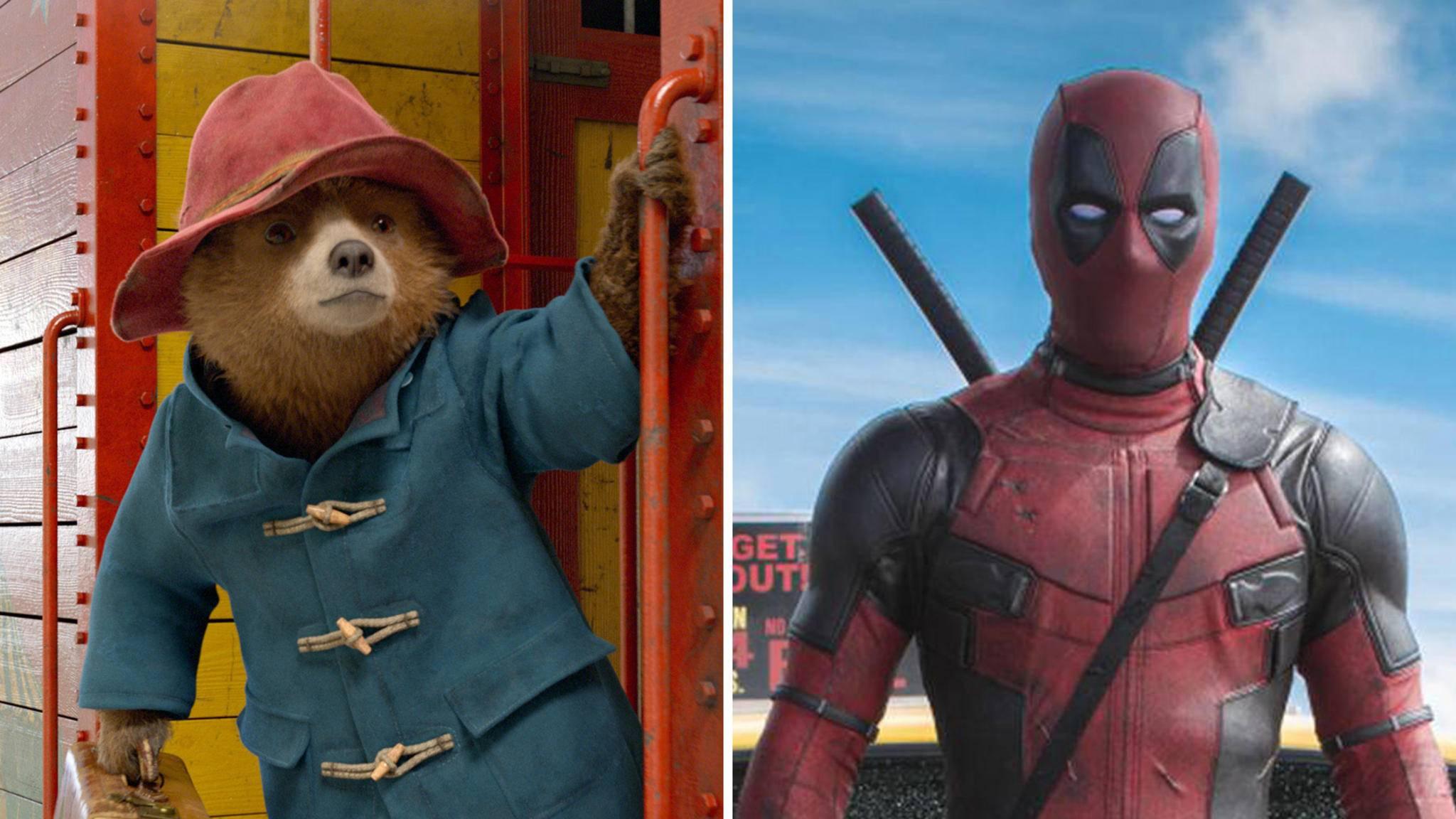 Kein Witz: Das wohl schrägste Twitter-Duell aller Zeiten liefern sich aktuell Paddington Bär und Deadpool.