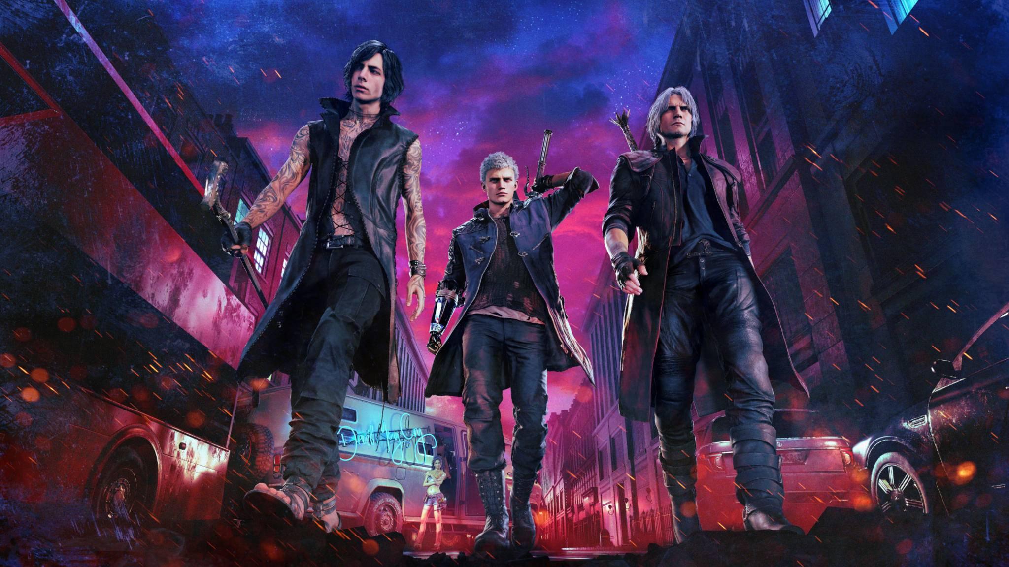 Anscheinend dürfen wir im Online-Koop bald mit Dante, Nero und V Dämonen zurück in die Hölle schicken.