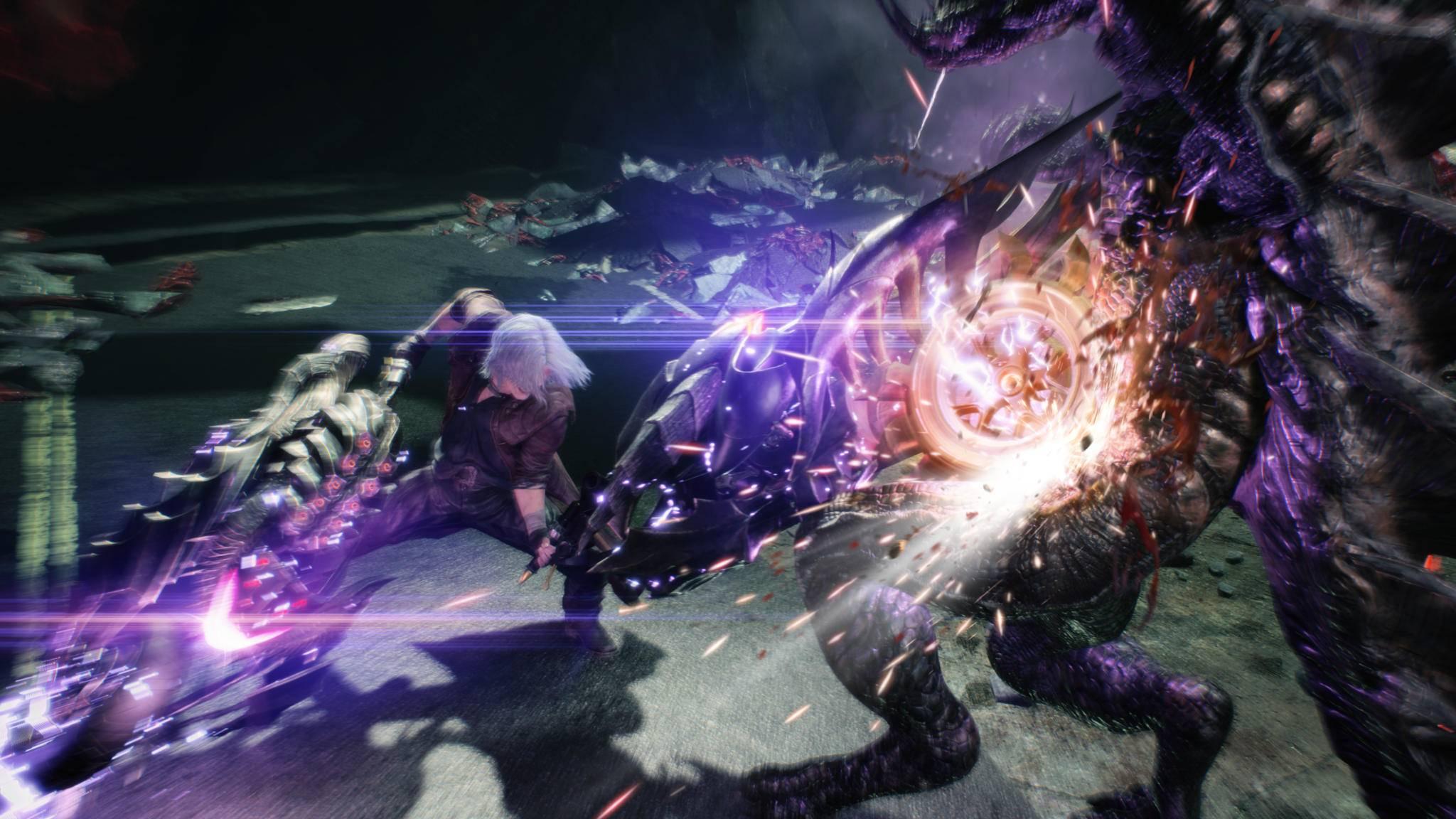 """Beim Wechsel des Charakters wird """"Devil May Cry 5"""" wohl auch in der Zeit springen."""