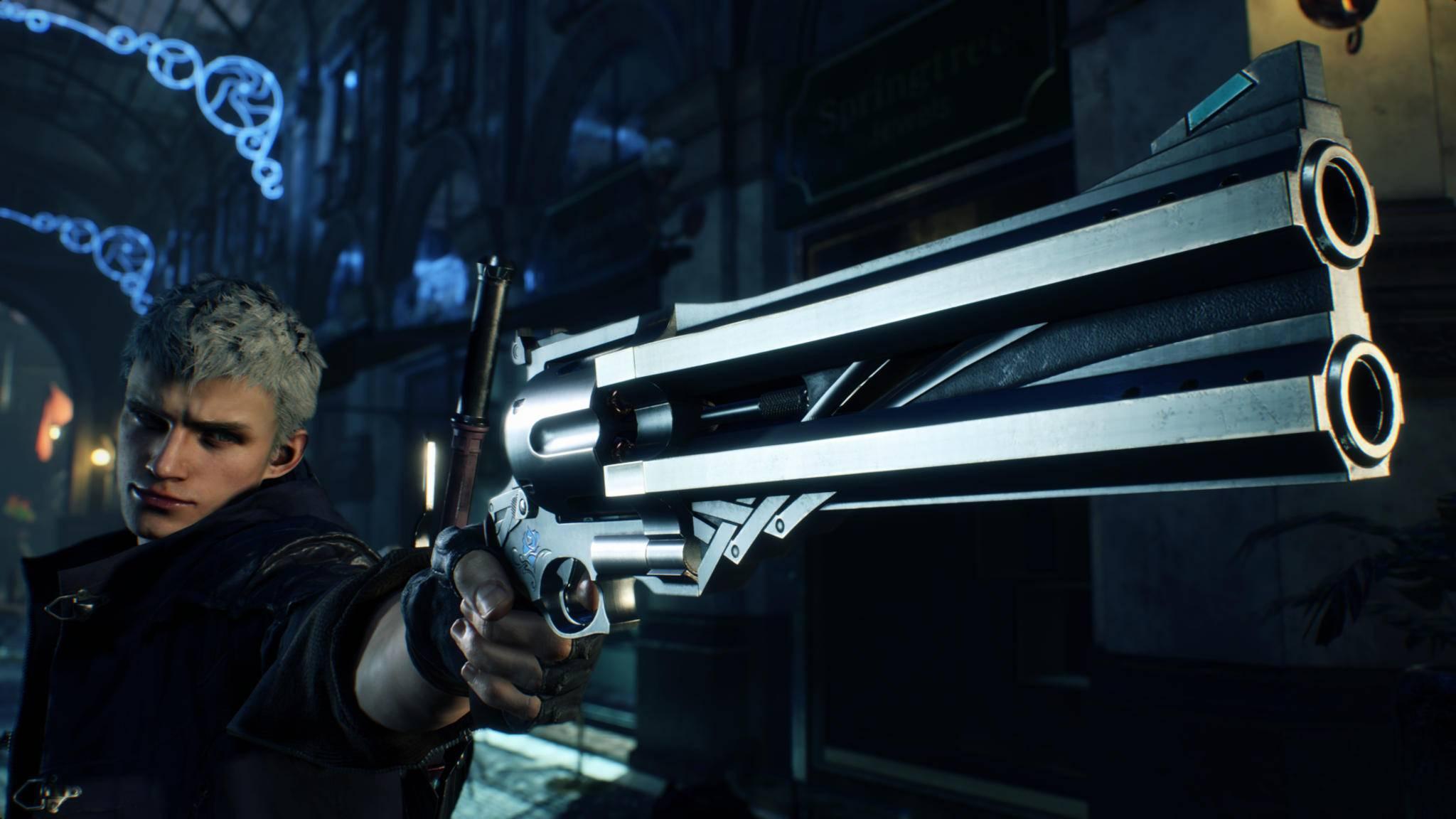 """2019 geht Nero in """"Devil May Cry 5"""" wieder auf die Jagd nach Teufeln und Dämonen."""