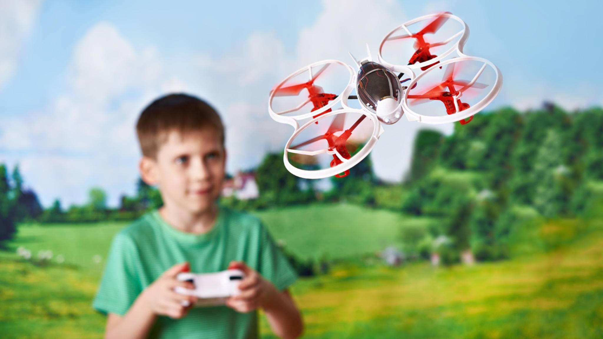 Drohnen für Kinder oder Einsteiger müssen nicht teuer sein.