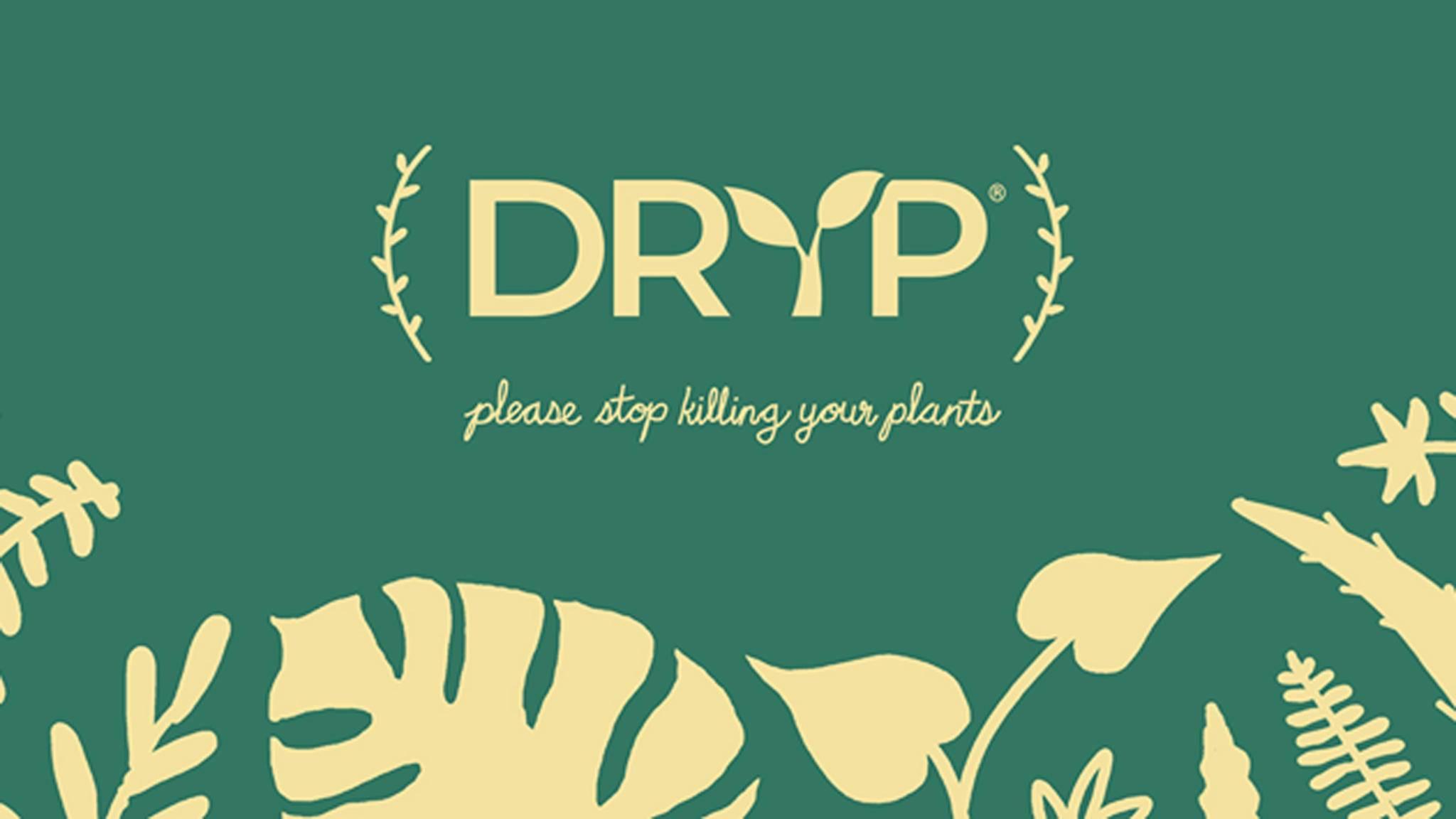 Mit der App Dryp sollen Deine Pflanzen nie wieder vertrocknen oder überwässert werden.