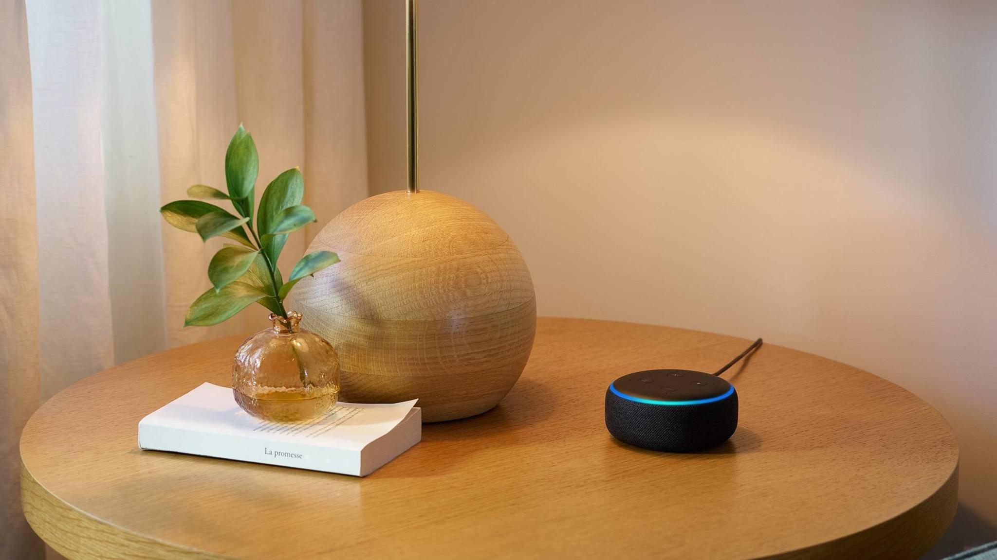 Der neue Echo Dot ist deutlich schicker als das erste Modell.