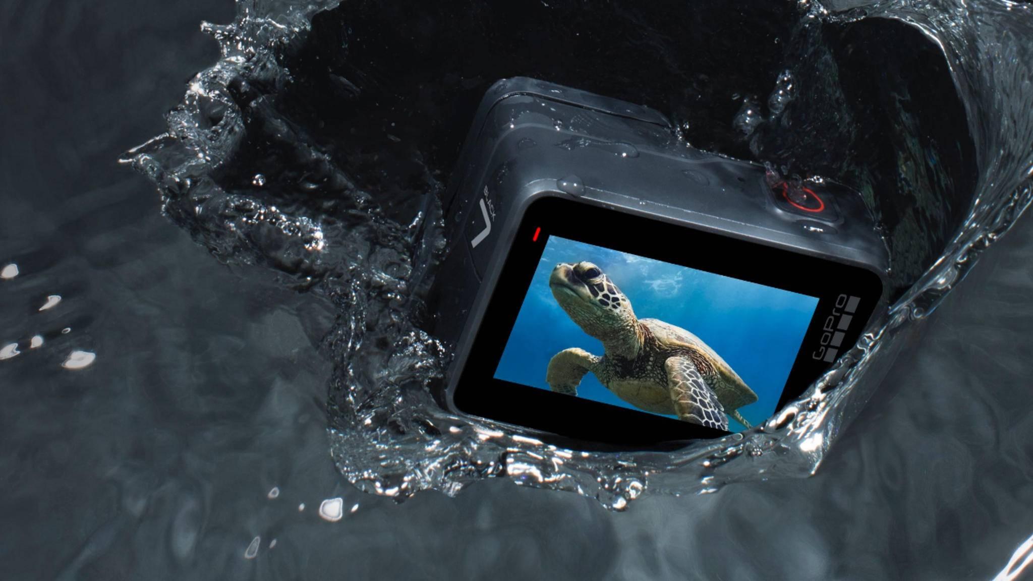 Der Nachfolger der GoPro Hero7 steht in den Startlöchern.