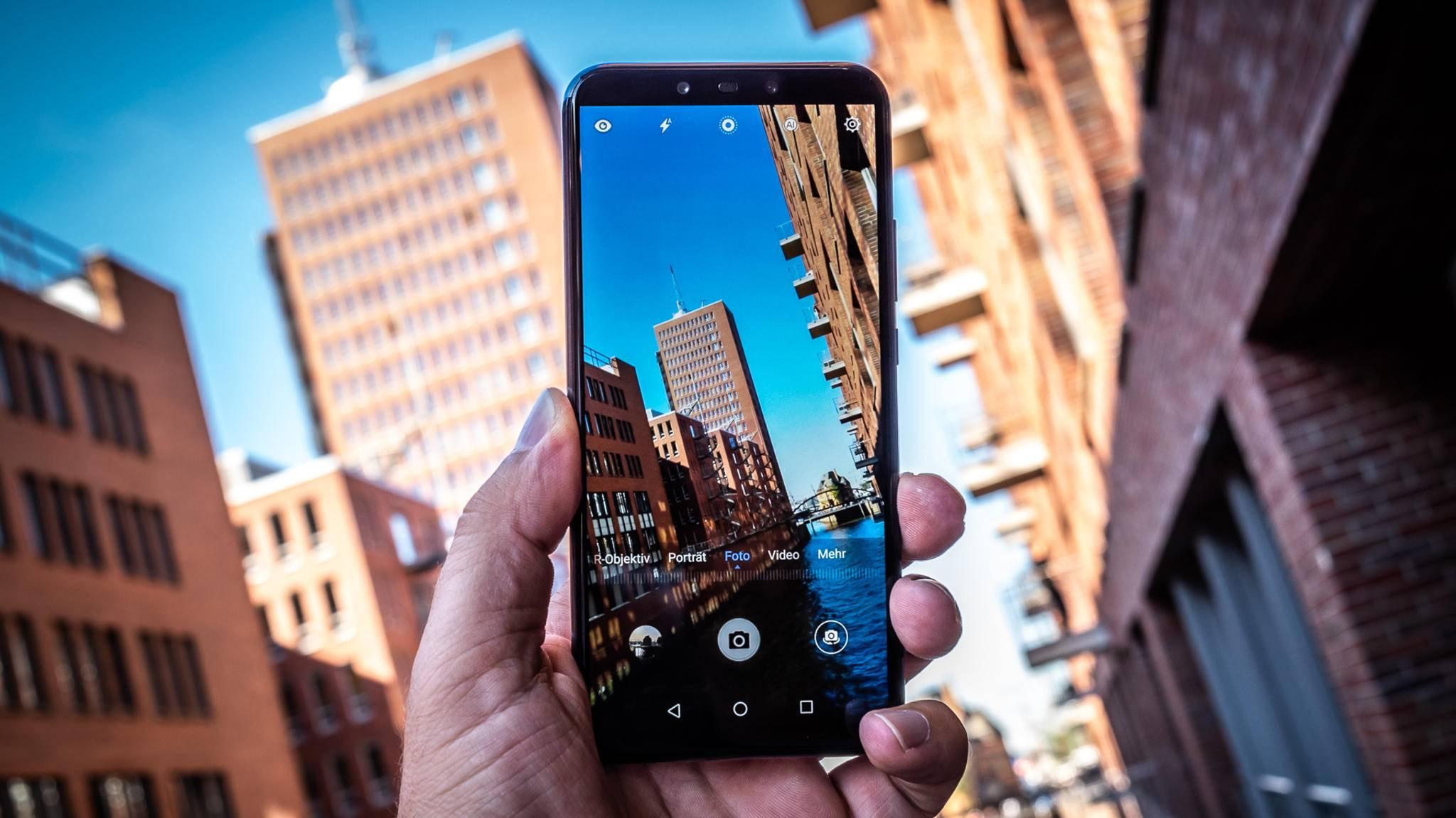 Das Huawei Mate 20 Lite nimmt Kurs auf die Oberklasse.