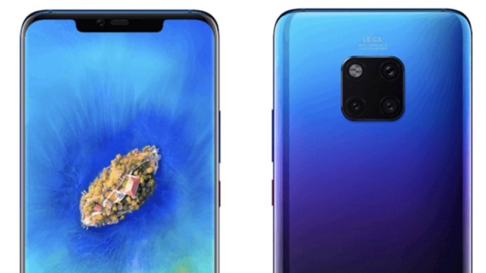 Das Huawei Mate 20 Pro dürfte das wohl stärkste Android-Smartphone werden.